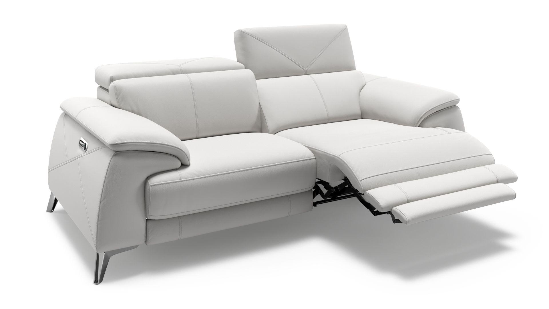 Leder 2-Sitzer Sofa CASINA