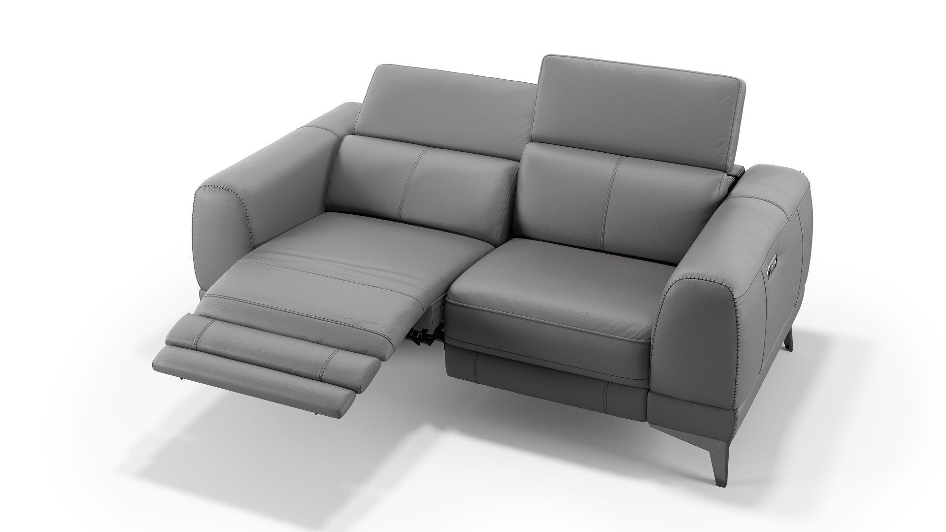 Leder 2-Sitzer Sofa LIMANA