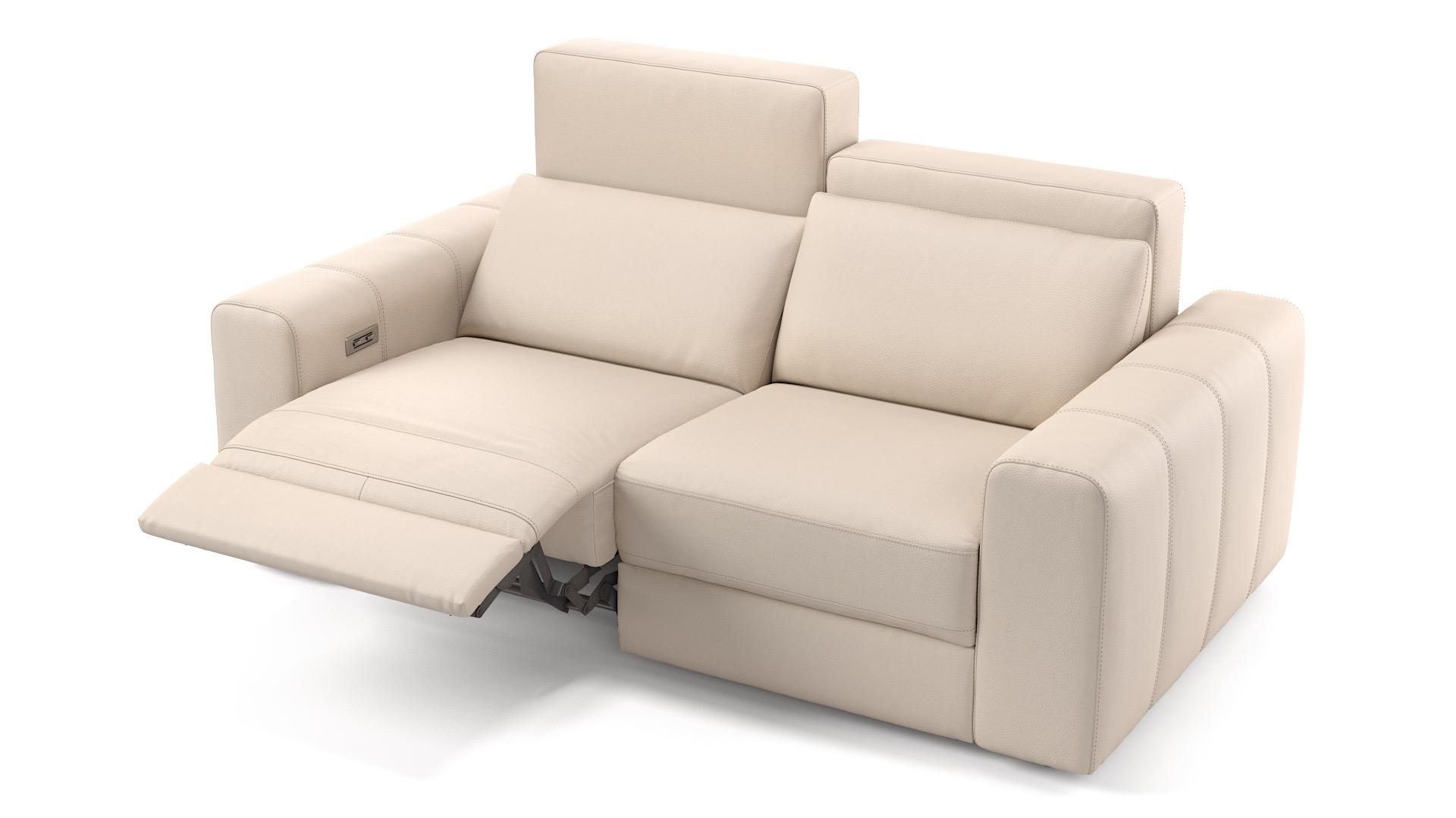Leder 2-Sitzer CAPRI