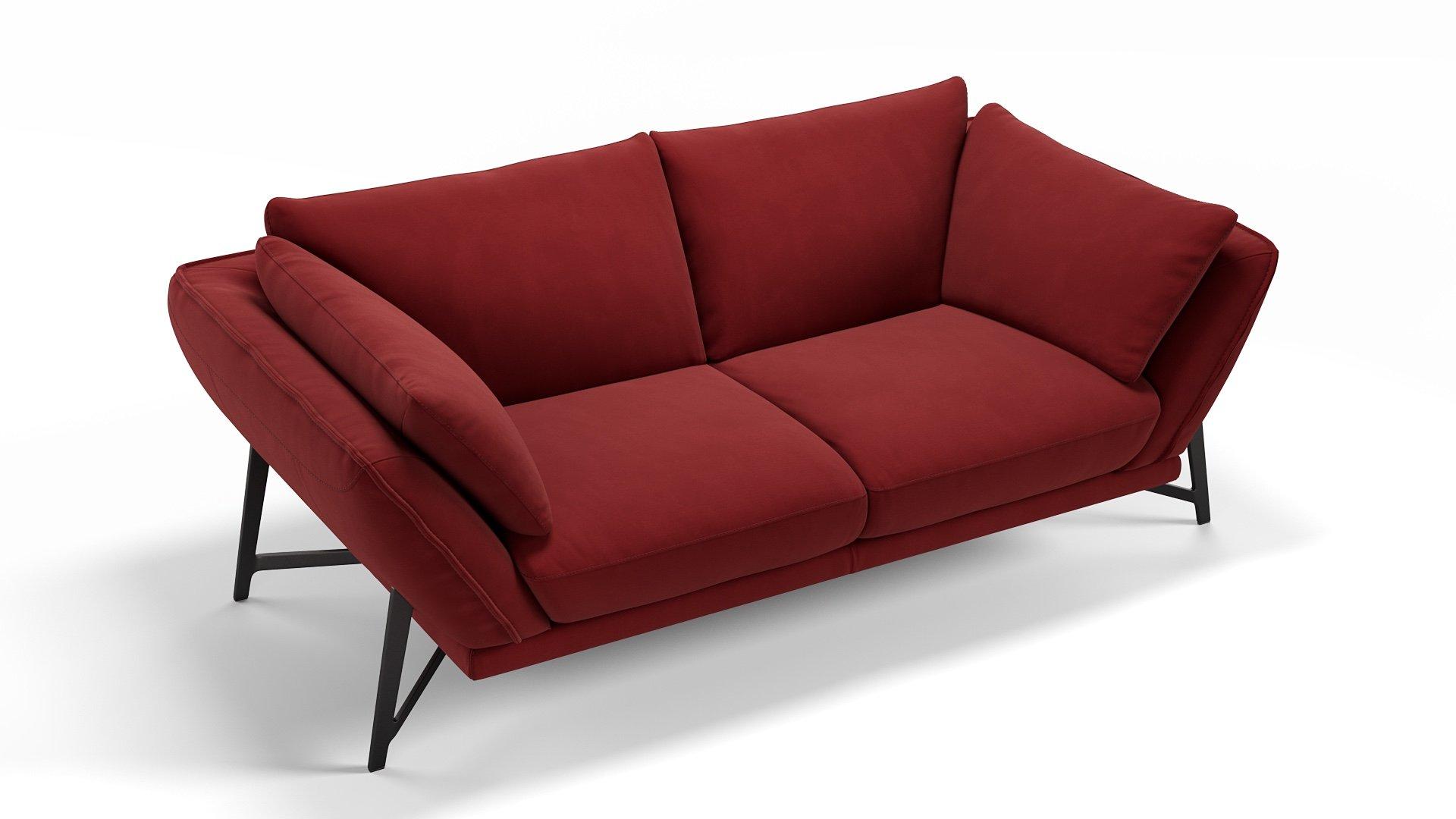 Stoff 2-Sitzer Sofa ESTELLA