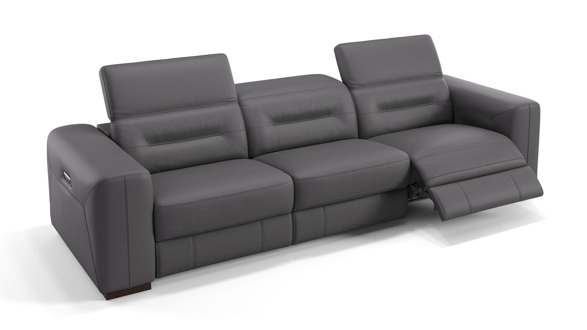 Leder 3-Sitzer Sofa XXL CORATO