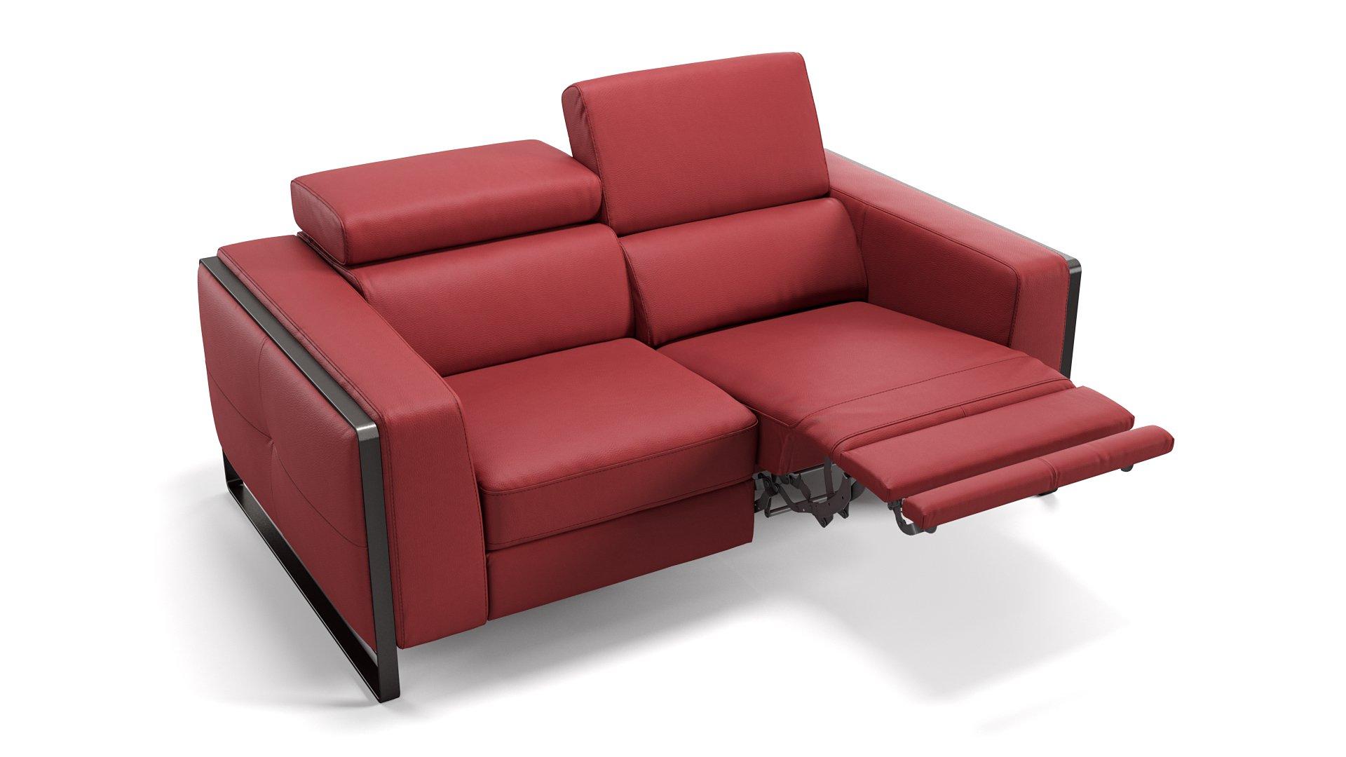 Leder 2-Sitzer Manzano