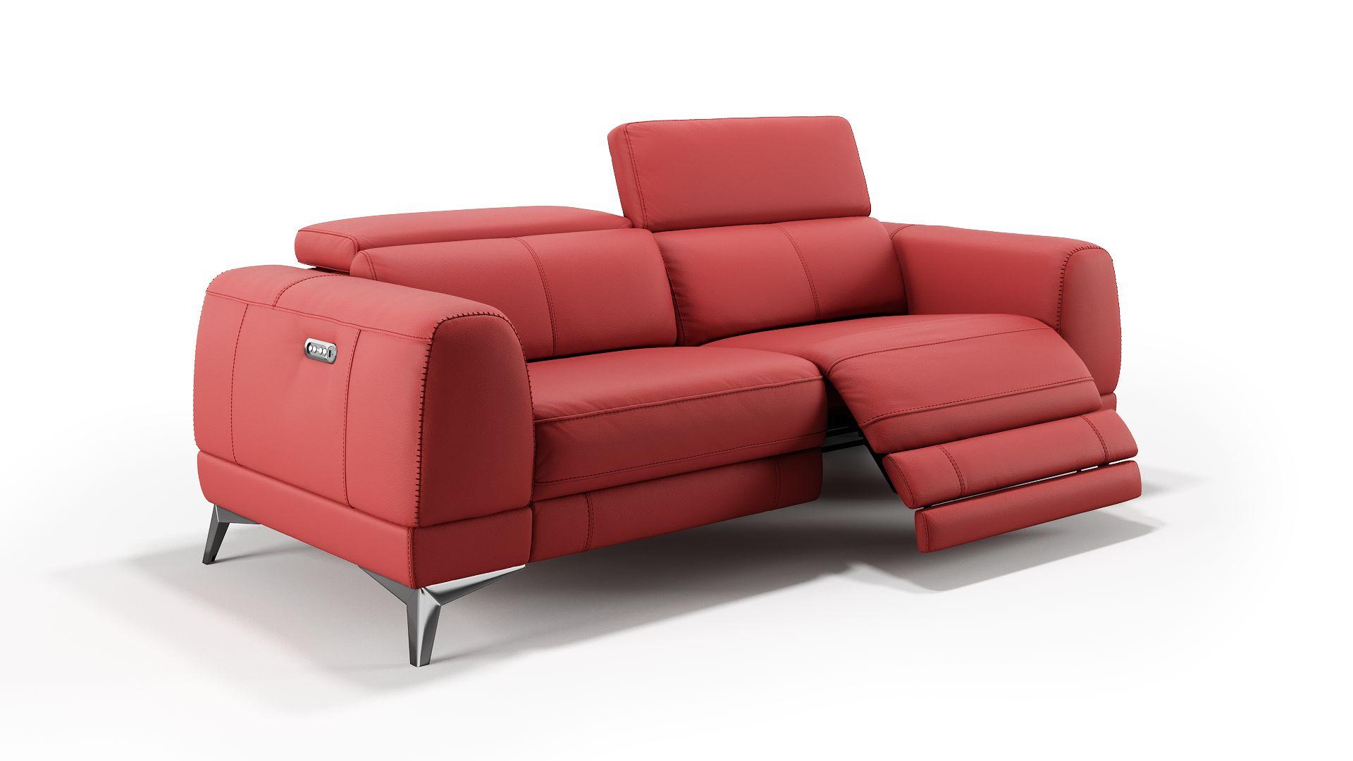 Leder 3-Sitzer Sofa LIMANA