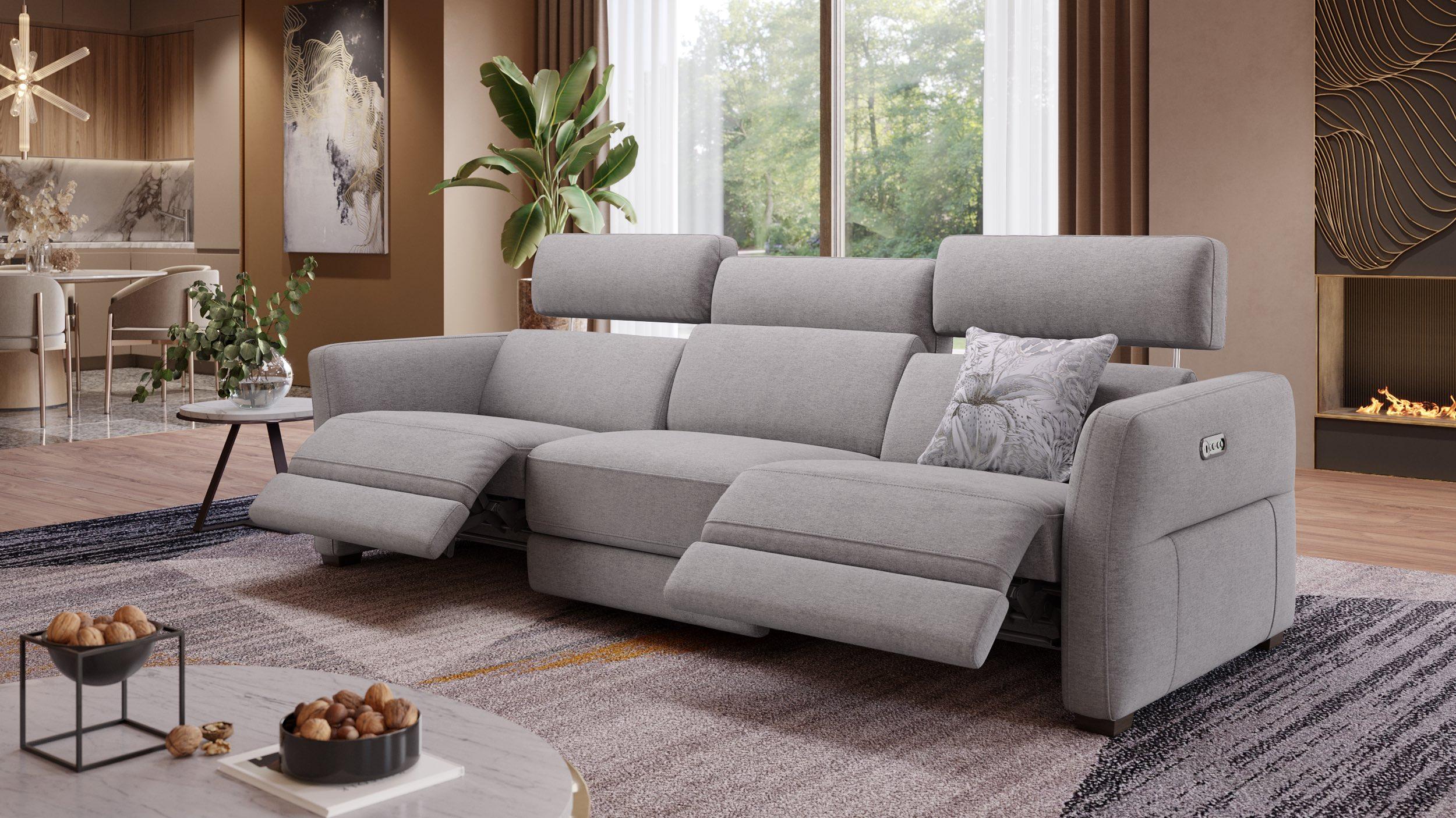 3-Sitzer Sofa XXL Novara | Stoffsofa | Sofanella