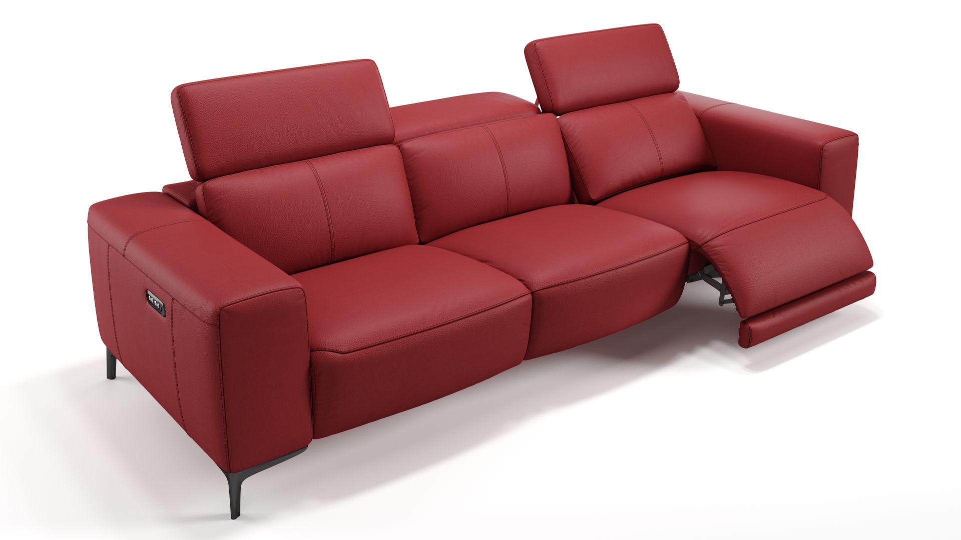Leder 3-Sitzer Sofa XXL BORRELLO