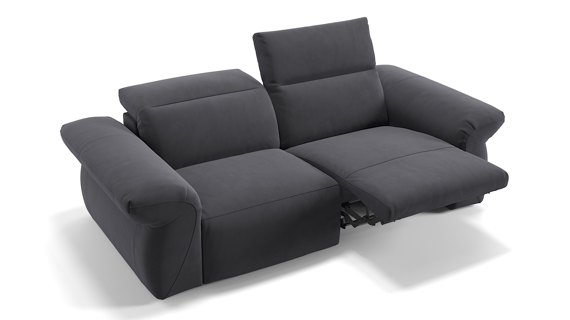 Stoff 2-Sitzer Sofa VENEDIG