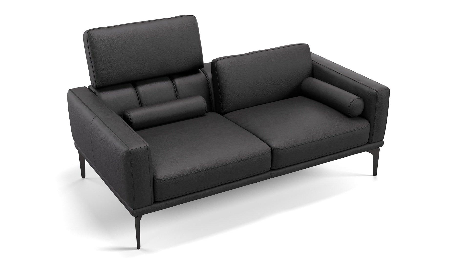 Leder 2-Sitzer Sofa SALERNO