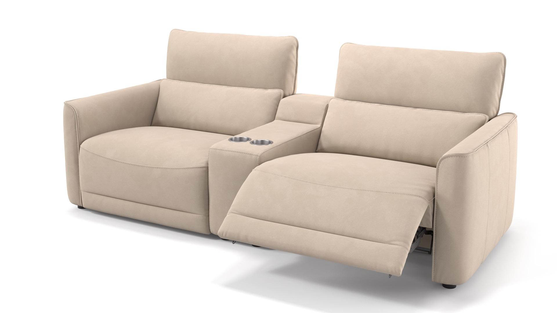 Stoff 2-Sitzer Kinosofa GALA