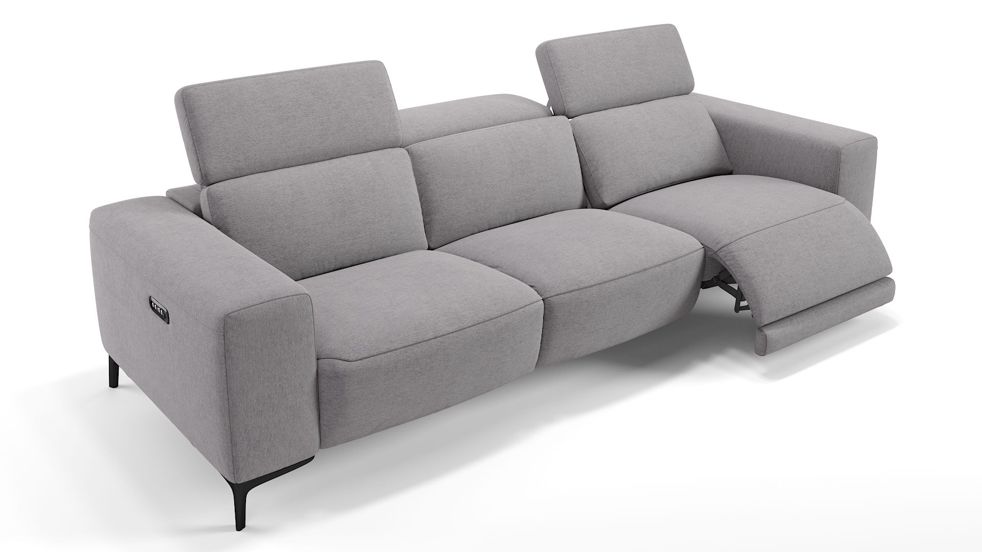 Stoff 3-Sitzer Sofa XXL BORRELLO