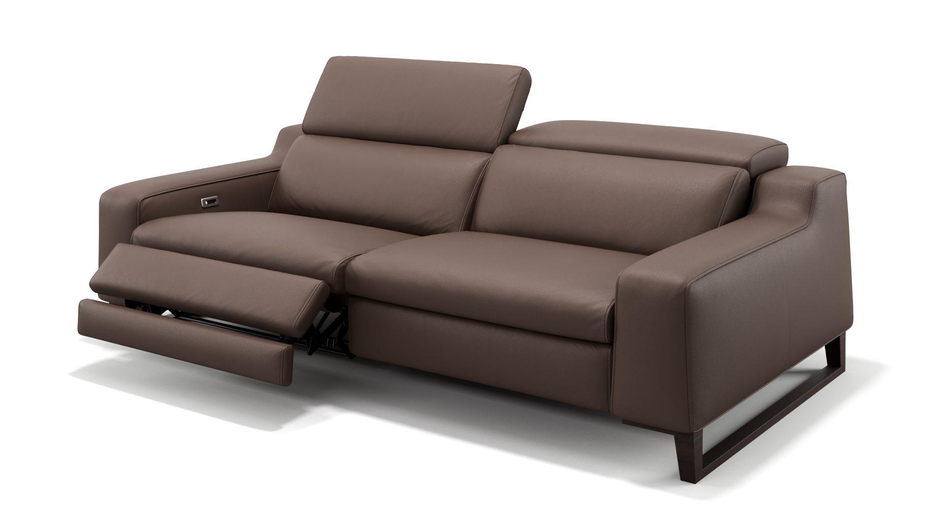 Leder 3-Sitzer Sofa ANDRIA