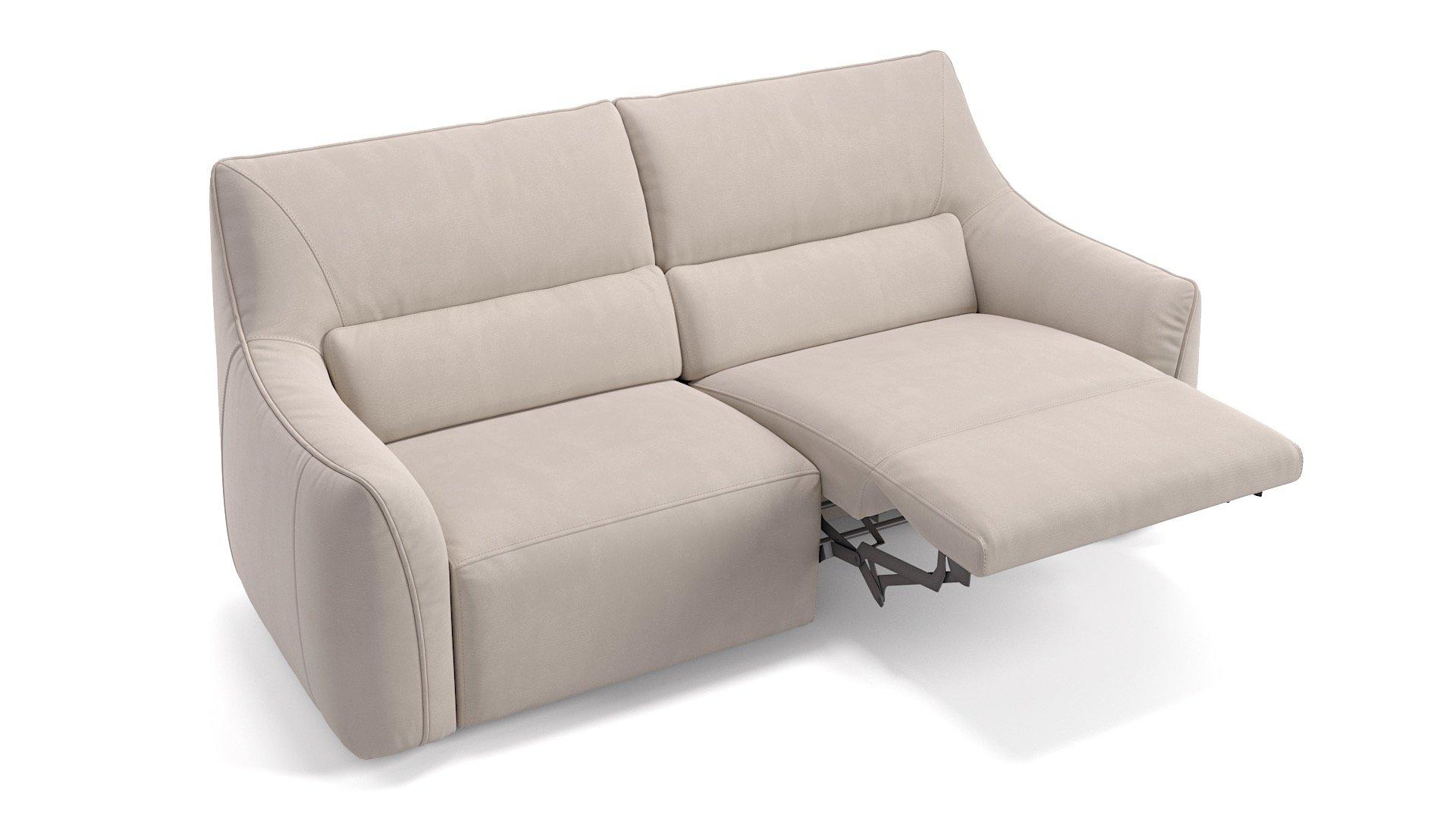 Stoff 2-Sitzer PESARO