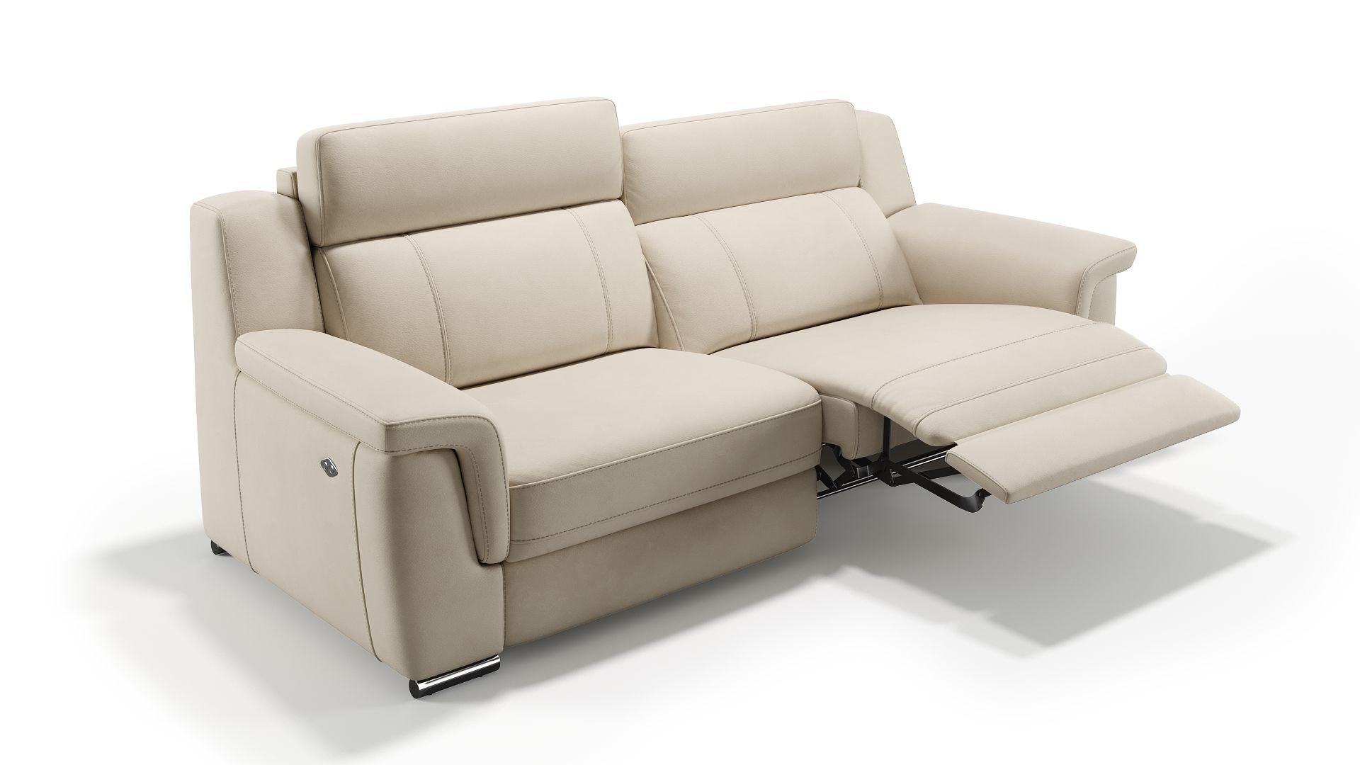 Leder 3-Sitzer Sofa TRIVENTO