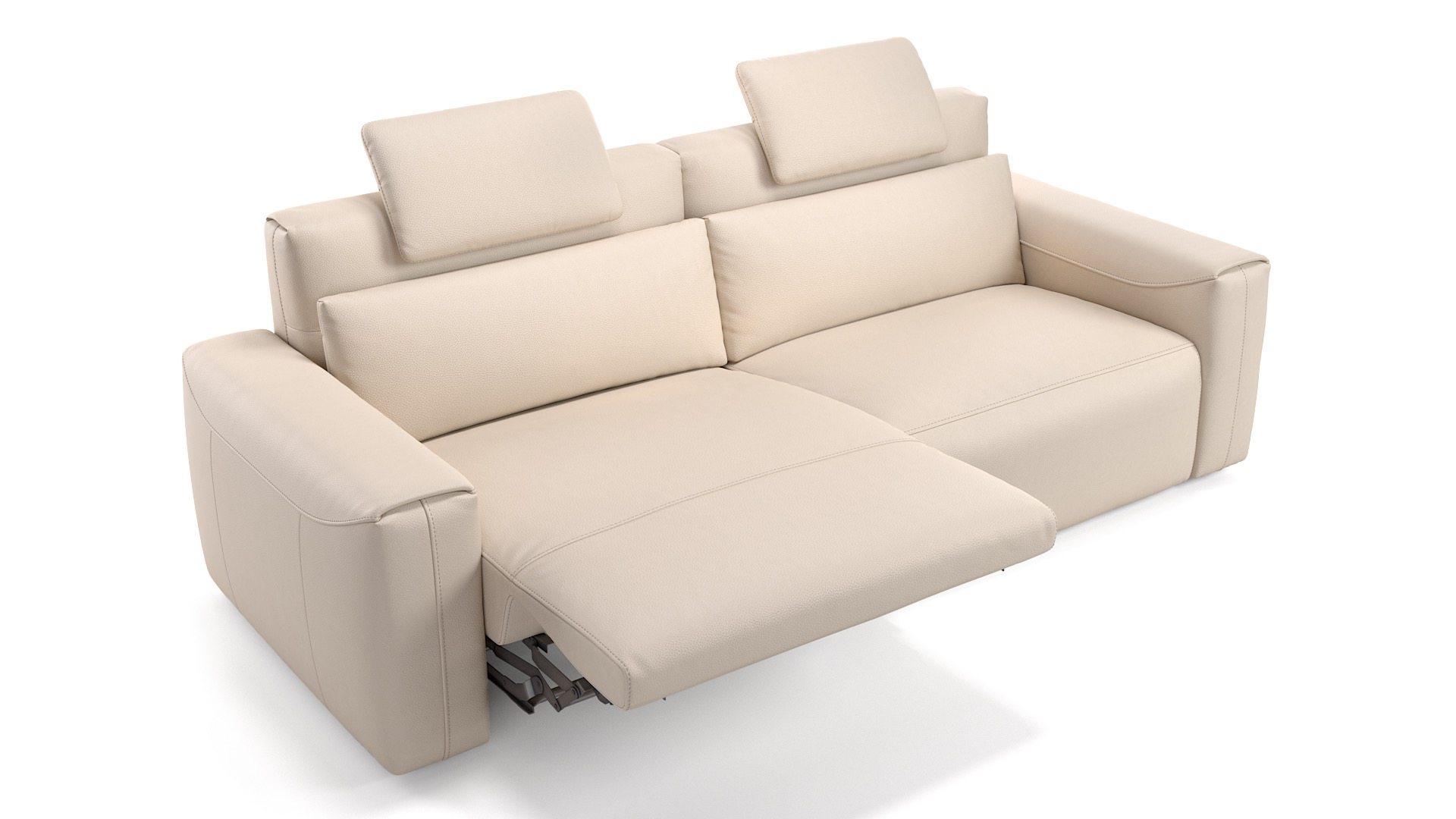 Leder 3-Sitzer VEGA