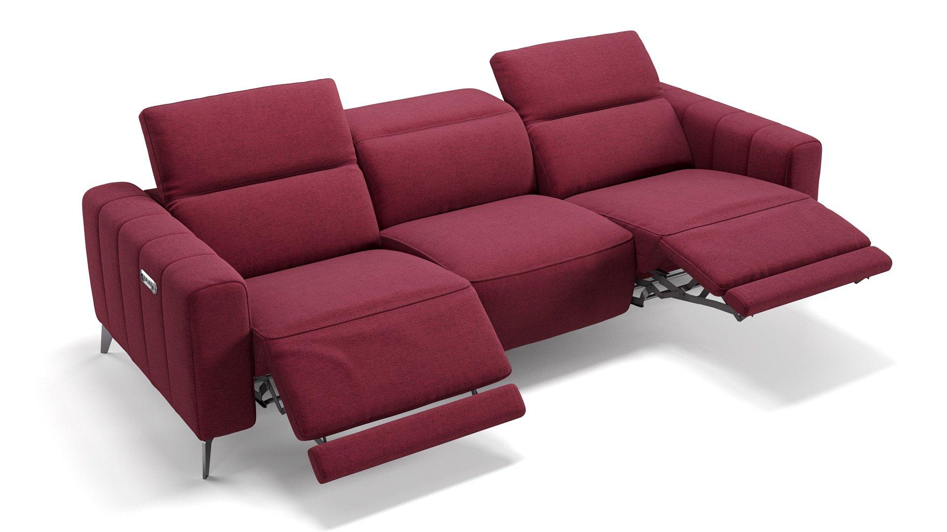 Stoff 3-Sitzer XXL PALERMO