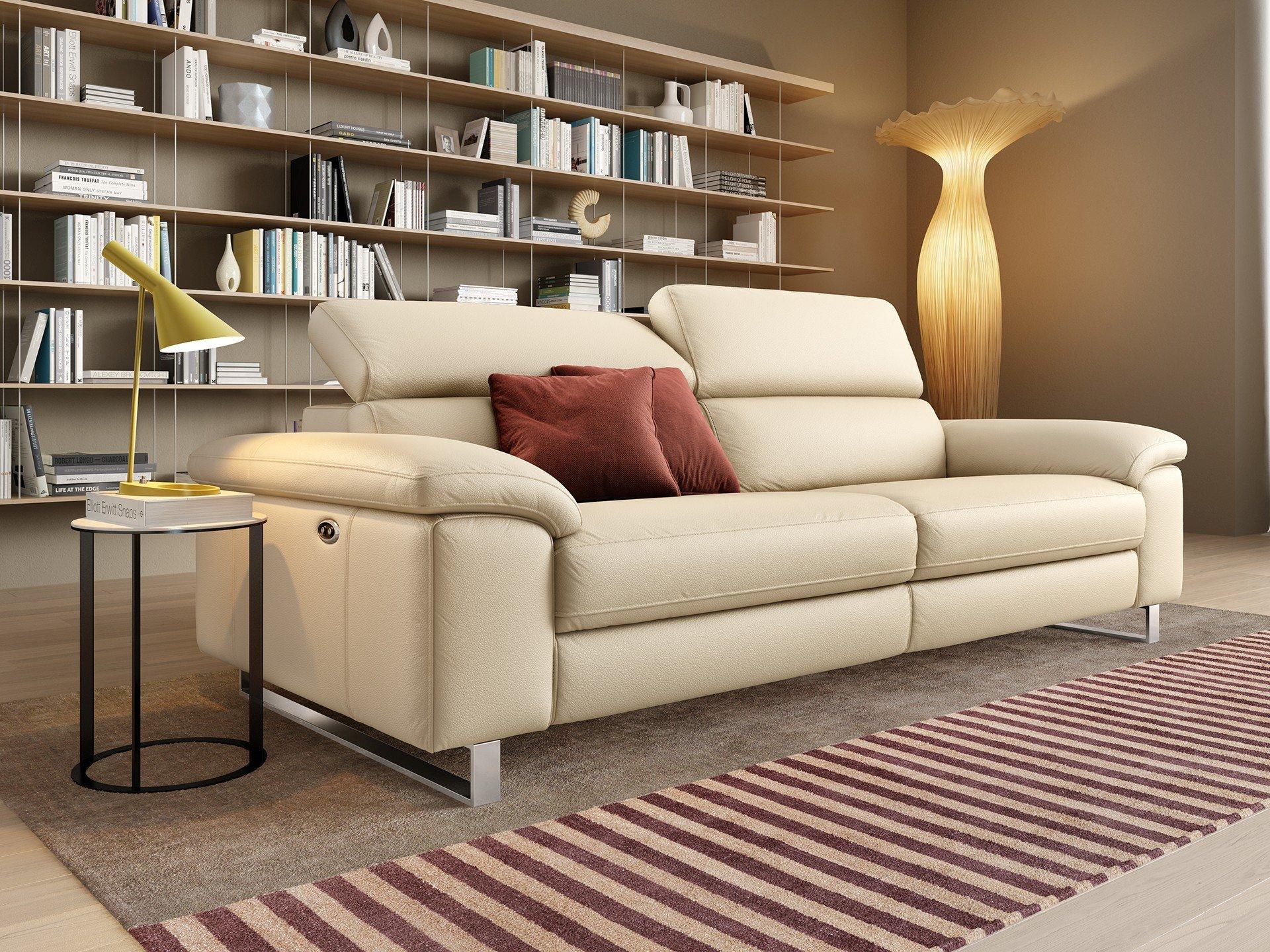 Leder 3-Sitzer Sofa SAVONA