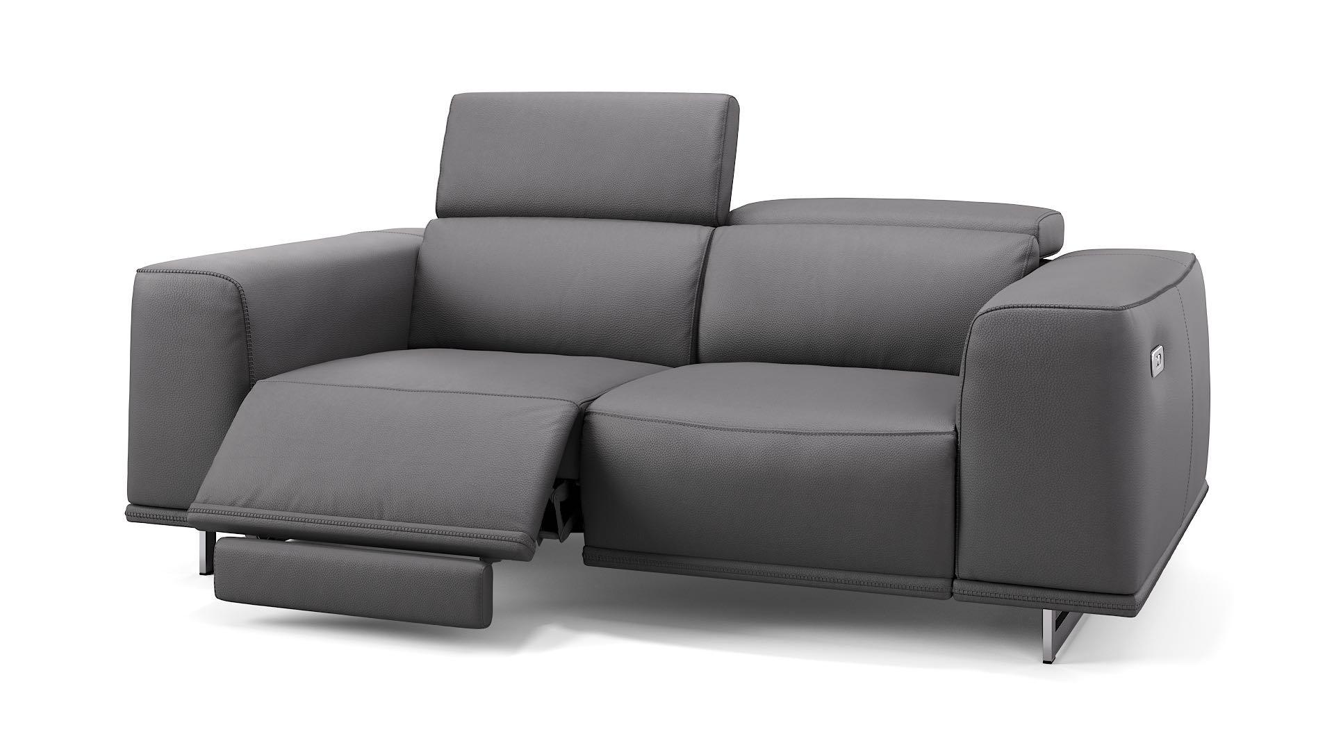 Leder 2-Sitzer Sofa ITALA