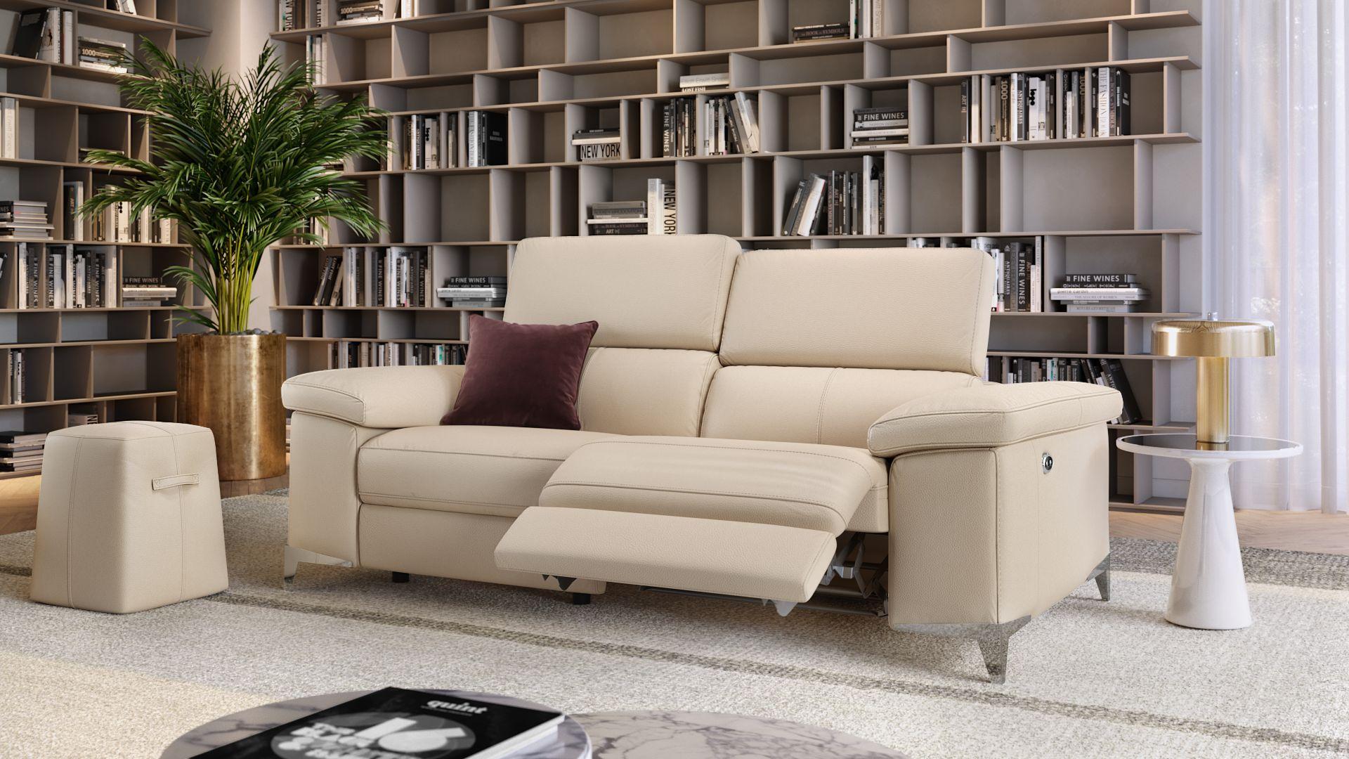 Leder 2-Sitzer Sofa VENOSA