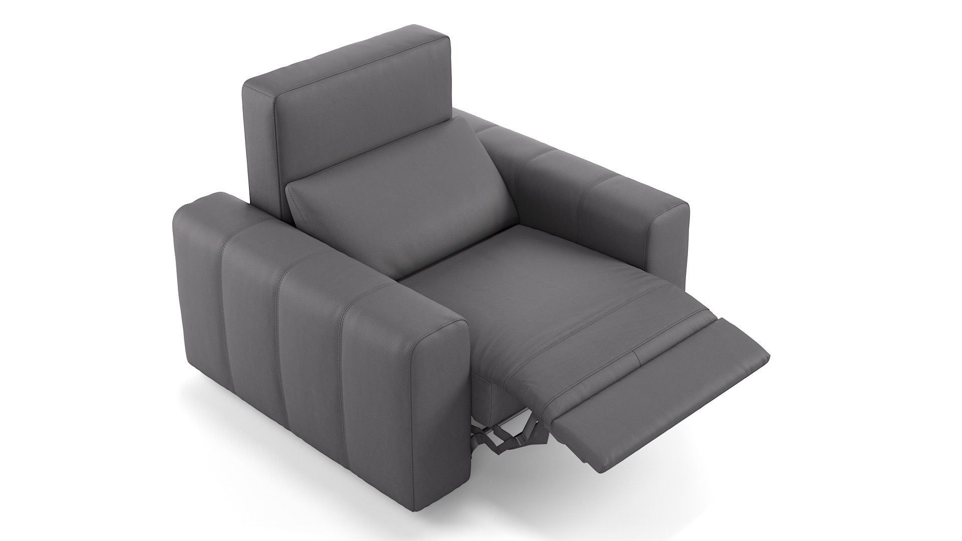 Leder 1-Sitzer CAPRI