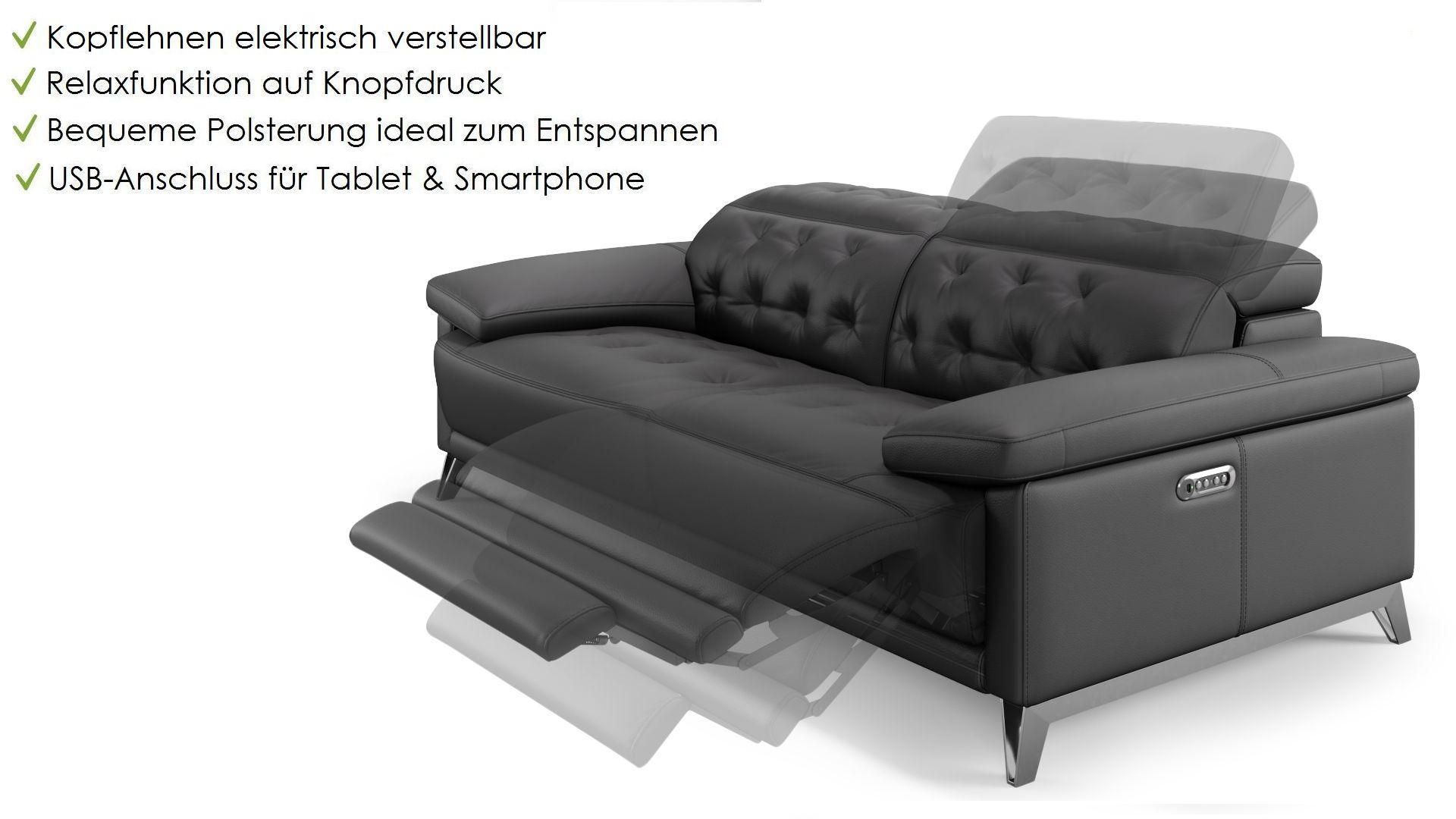 Leder 2-Sitzer Sofa MATINO