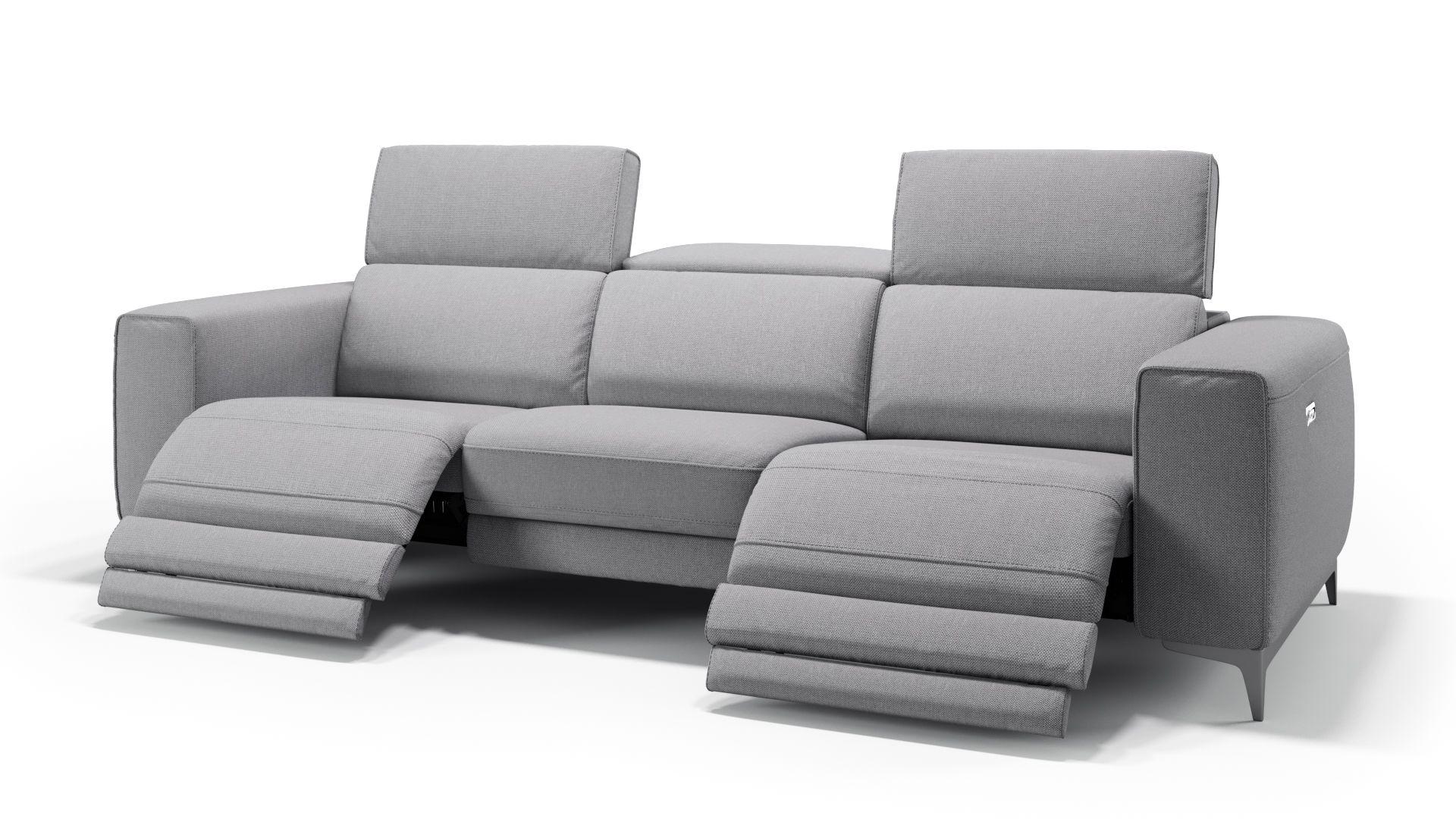 Stoff 3-Sitzer Sofa XXL CUPELLO