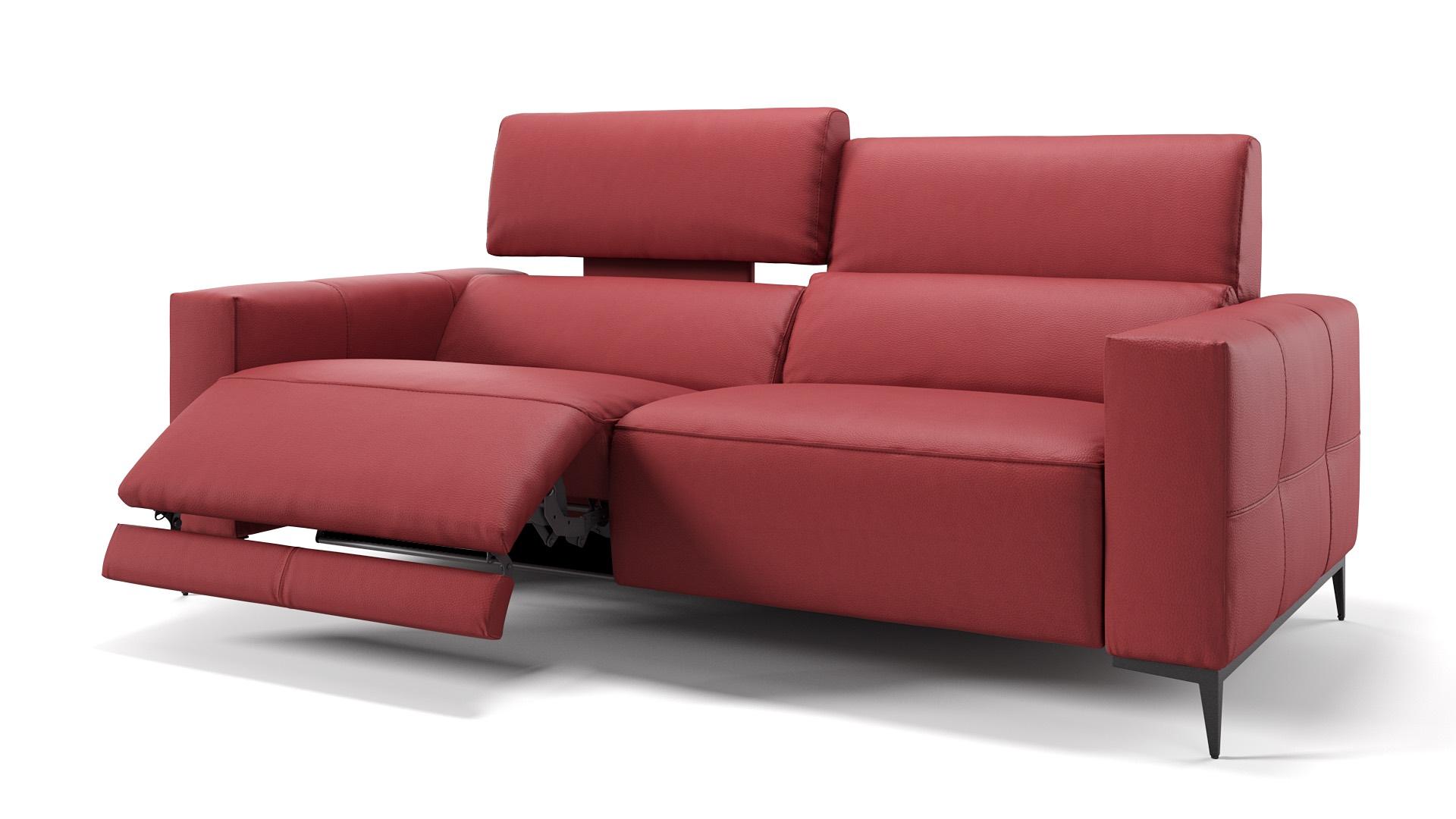 Leder 3-Sitzer TOLEDO