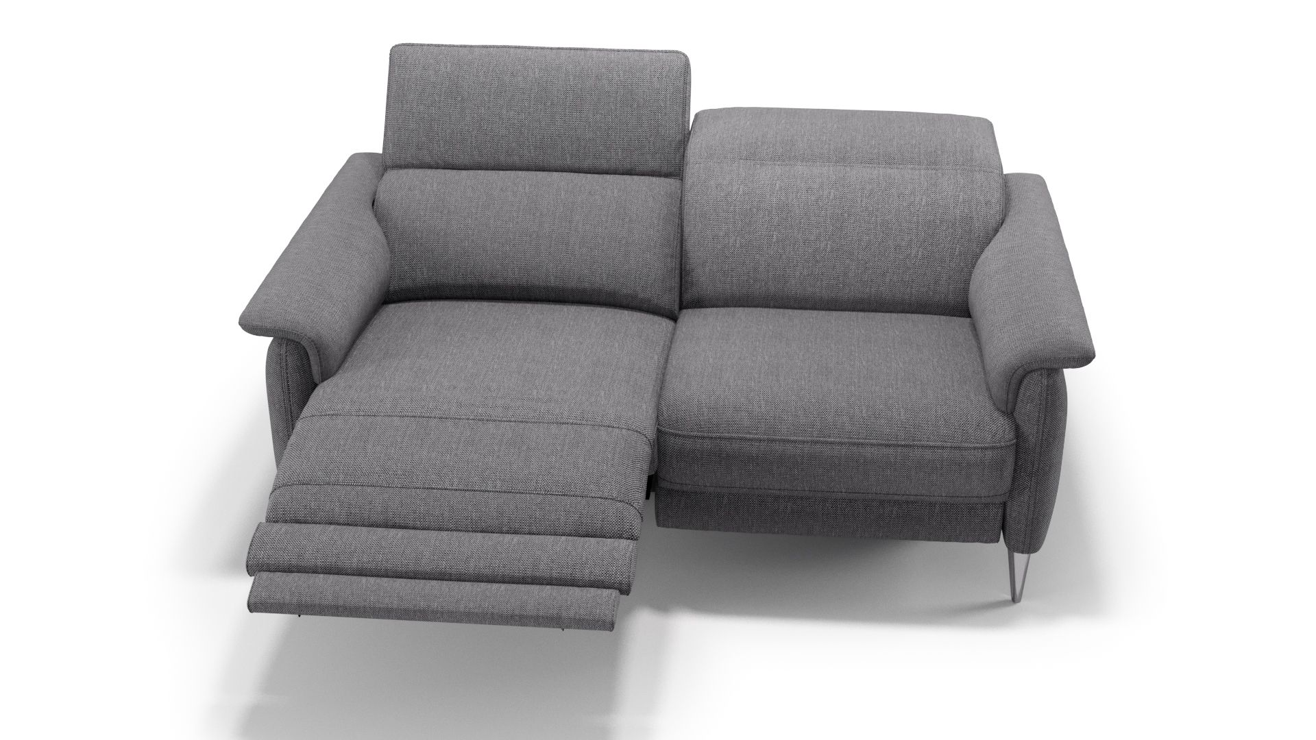 Stoff 2-Sitzer Sofa BARLETTA