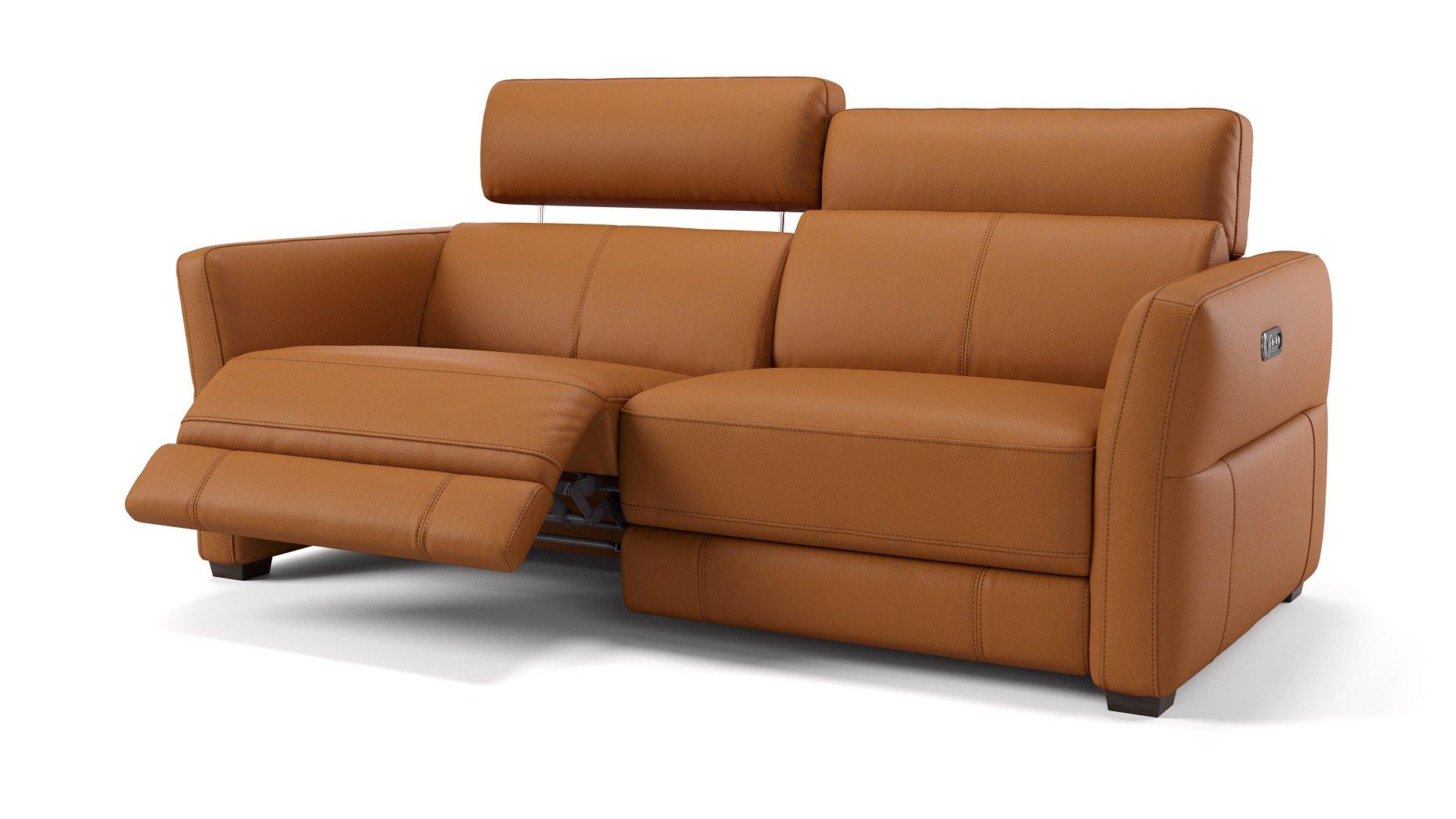 Leder 3-Sitzer NOVARA