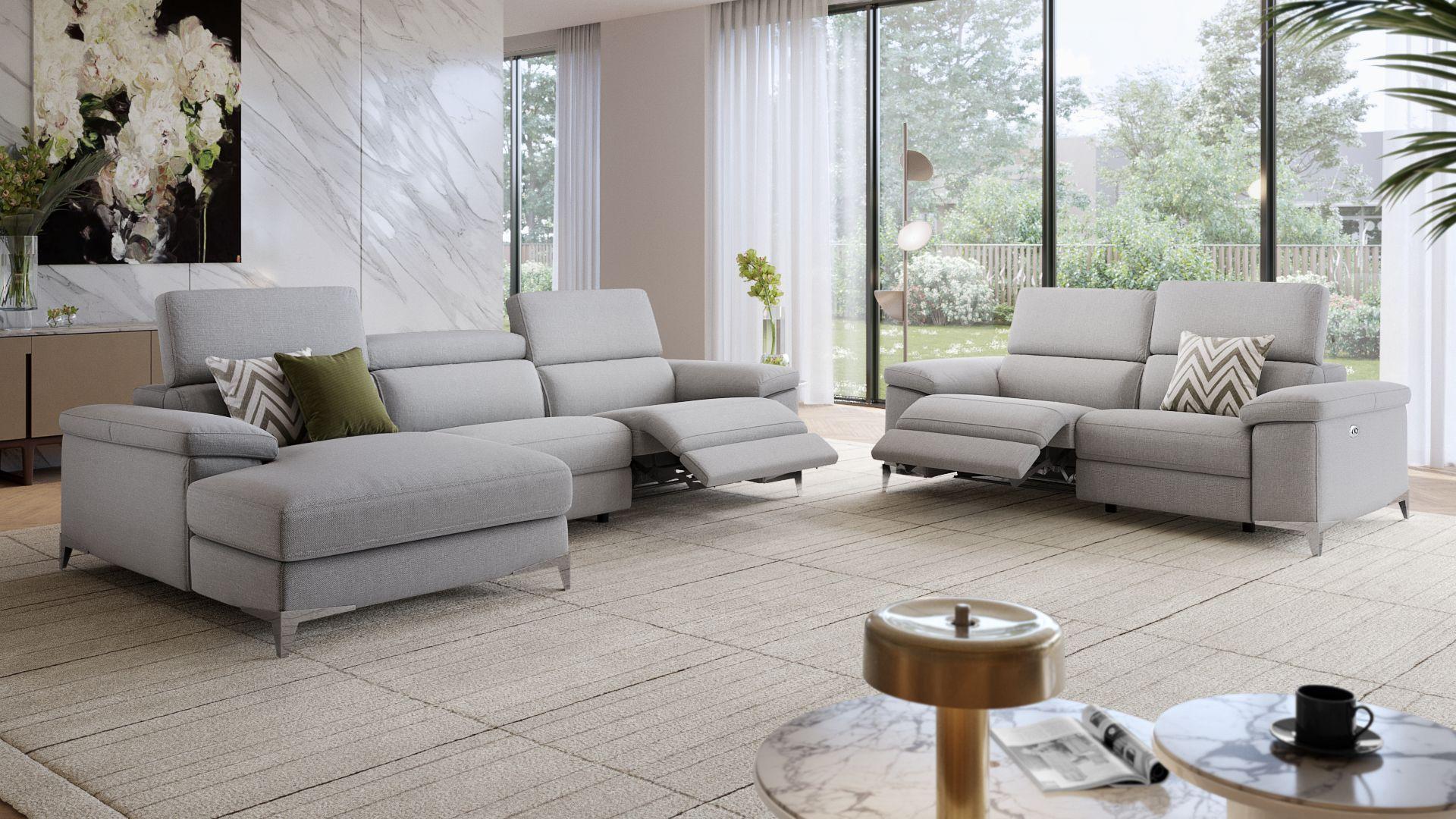 Stoff 2-Sitzer Sofa VENOSA