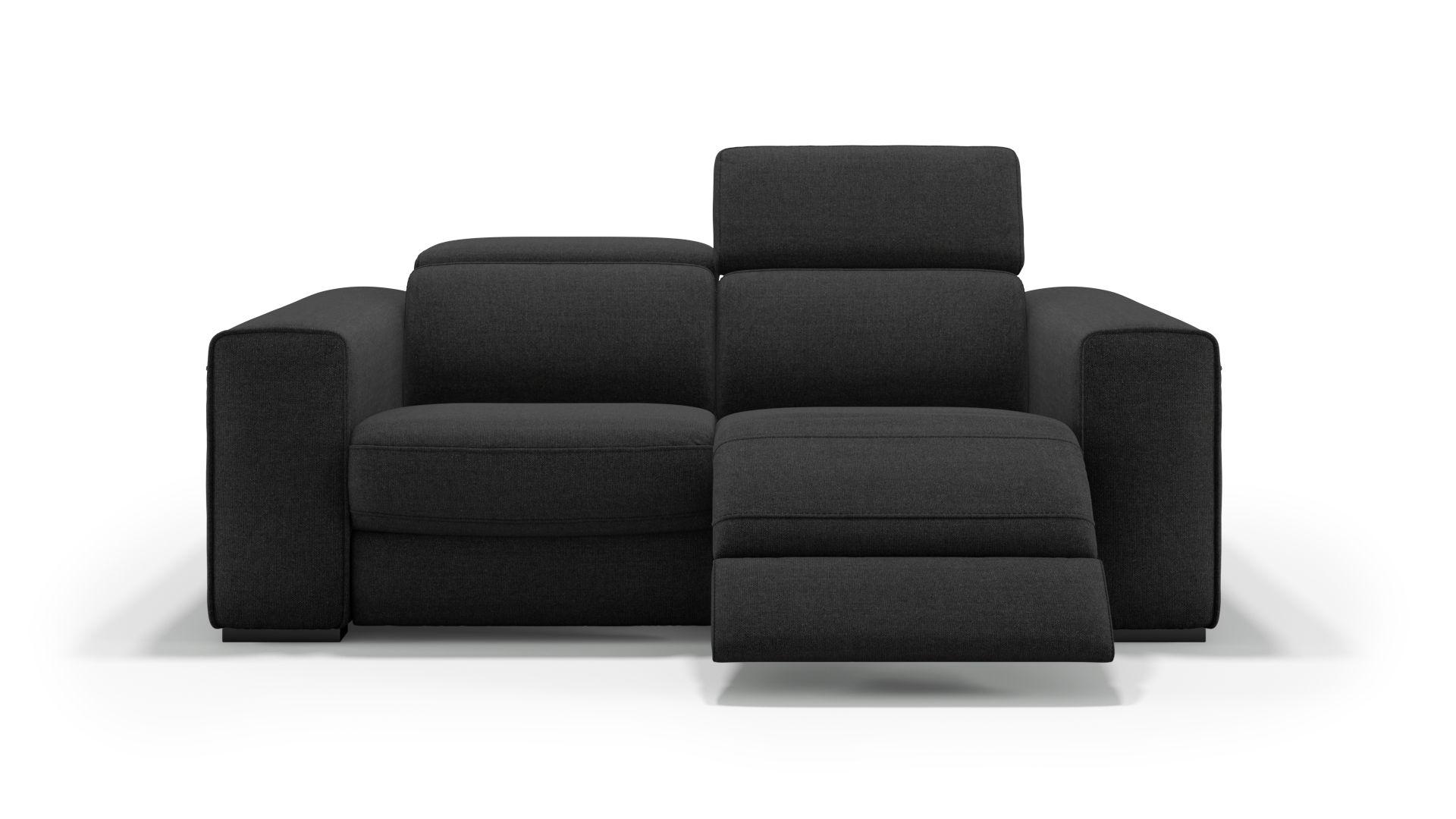 Stoff 2-Sitzer Sofa BOVINO