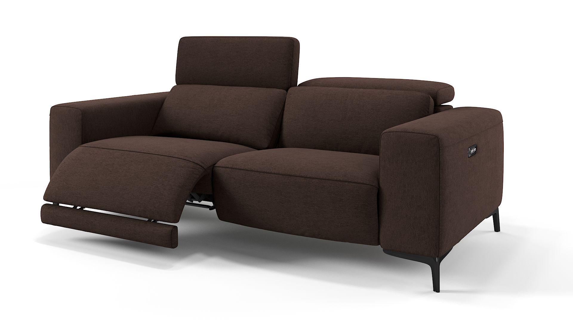 Stoff 3-Sitzer Sofa BORRELLO