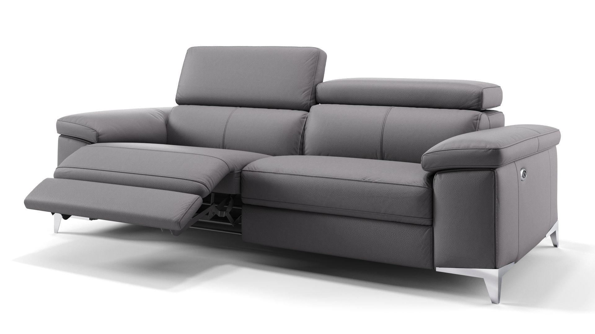 Leder 3-Sitzer Sofa VENOSA