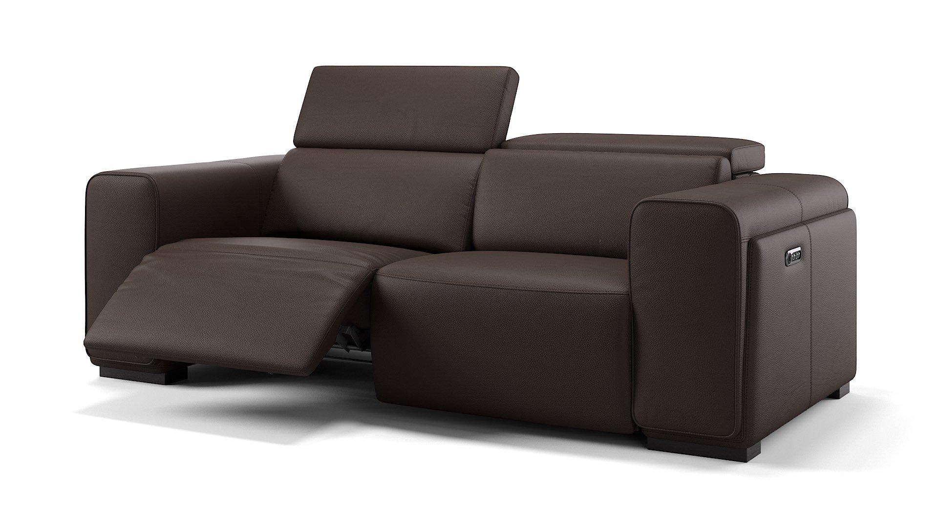 Leder 3-Sitzer Sofa IMPERIA