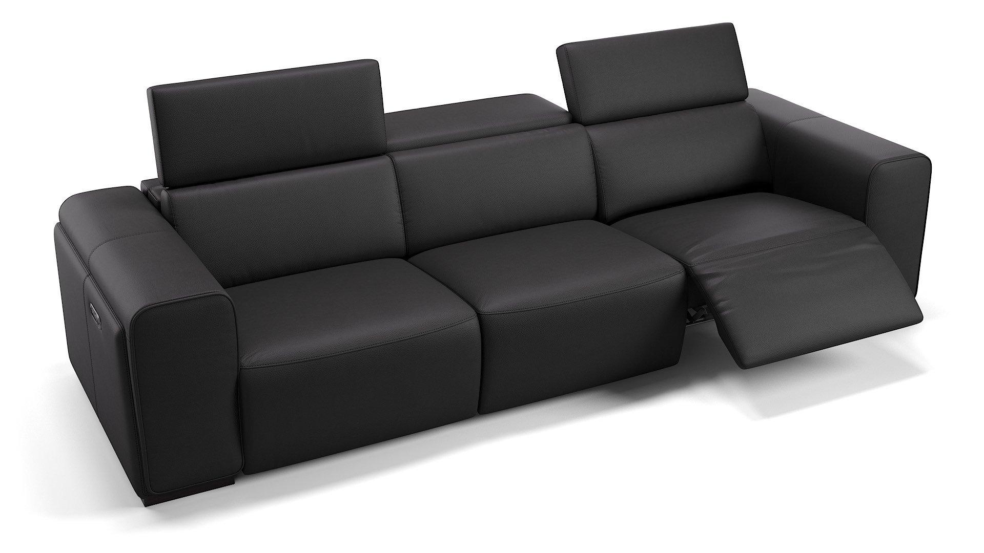 Leder 3-Sitzer Sofa XXL IMPERIA