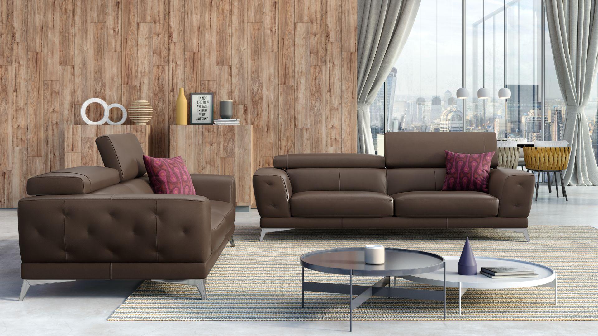 Leder 2-Sitzer Sofa CEPRANO