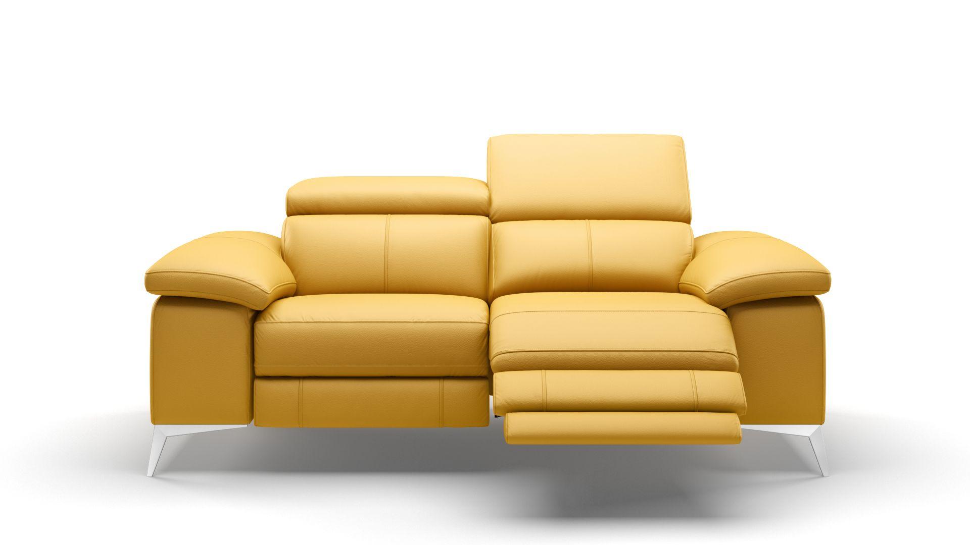 Leder 2-Sitzer Sofa MILANO