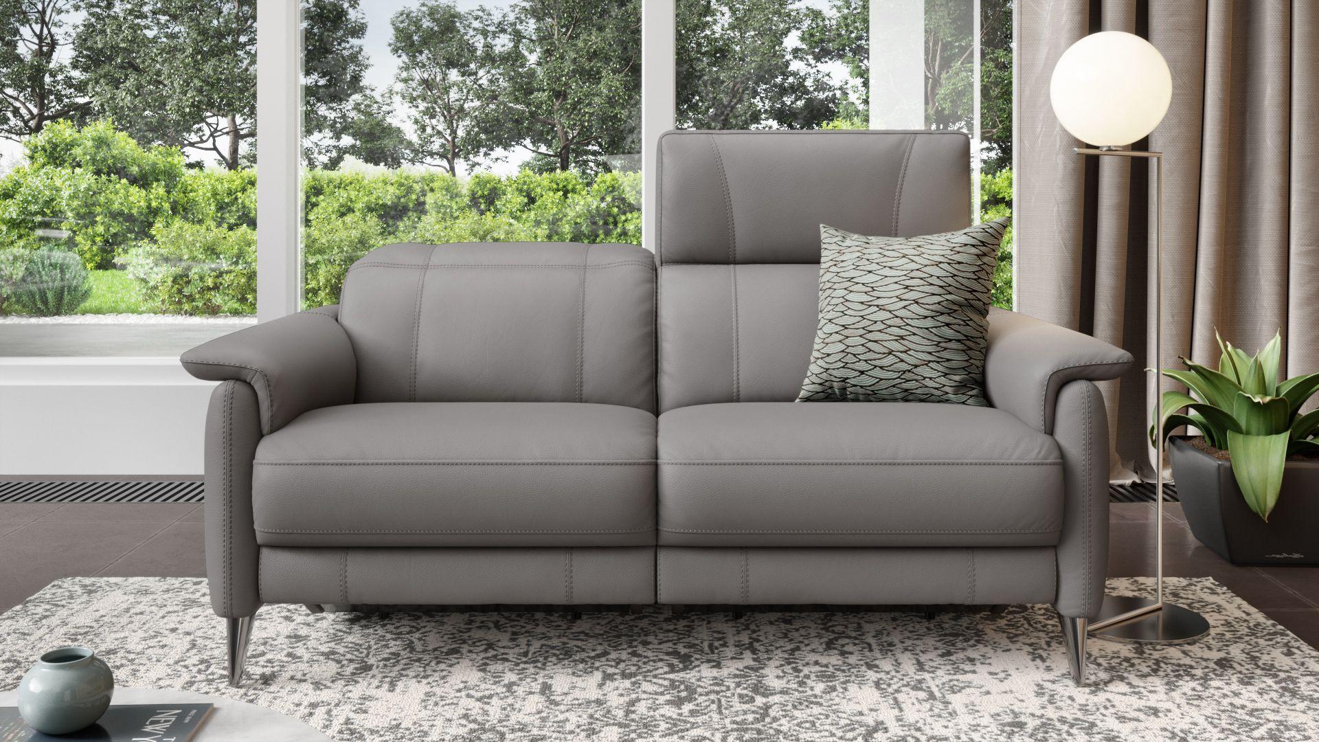 Leder 2-Sitzer Sofa BARLETTA