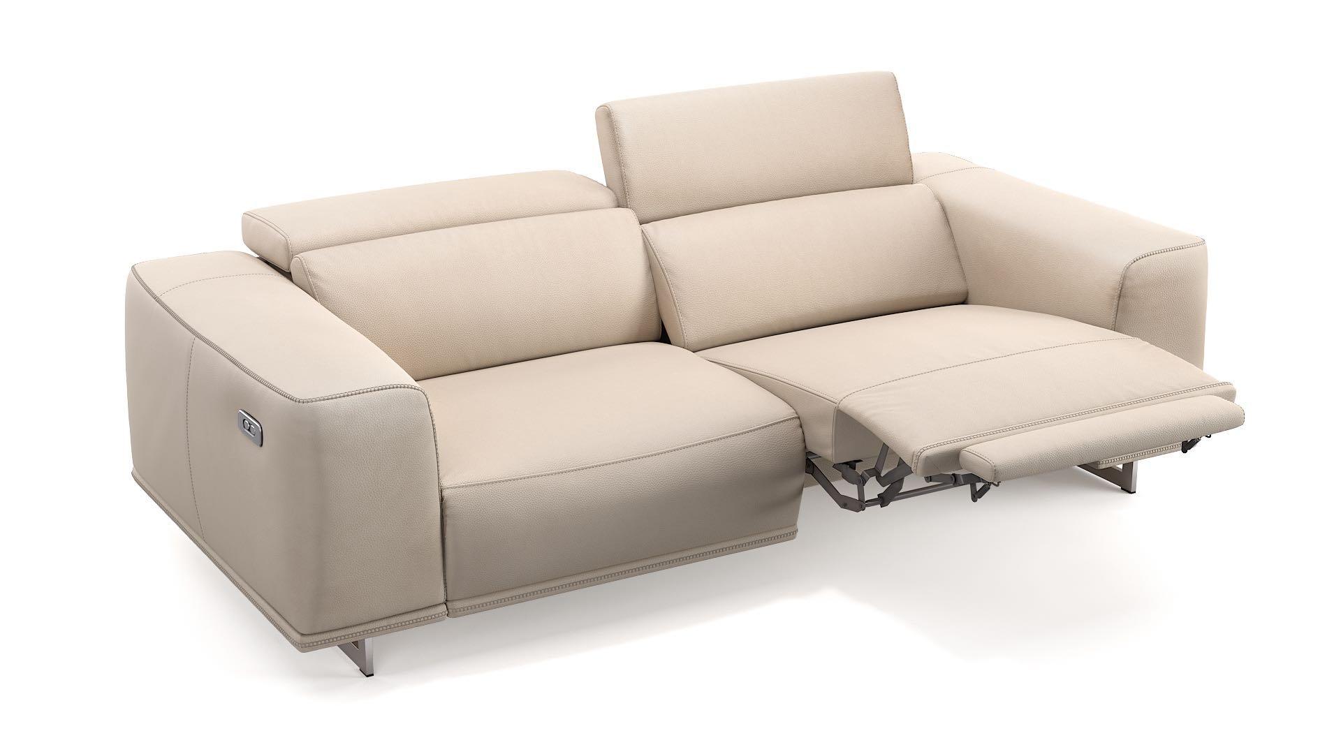 Leder 3-Sitzer Sofa ITALA