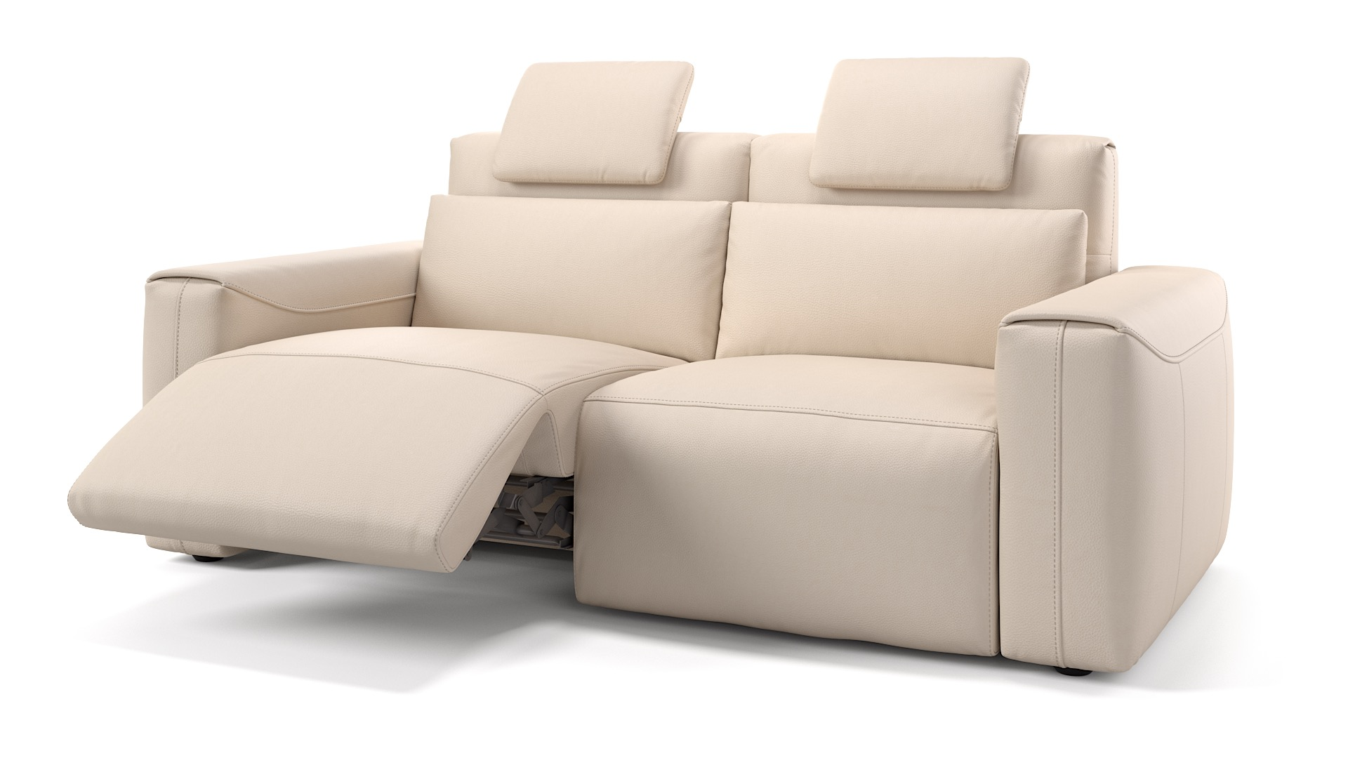Leder 2-Sitzer VEGA