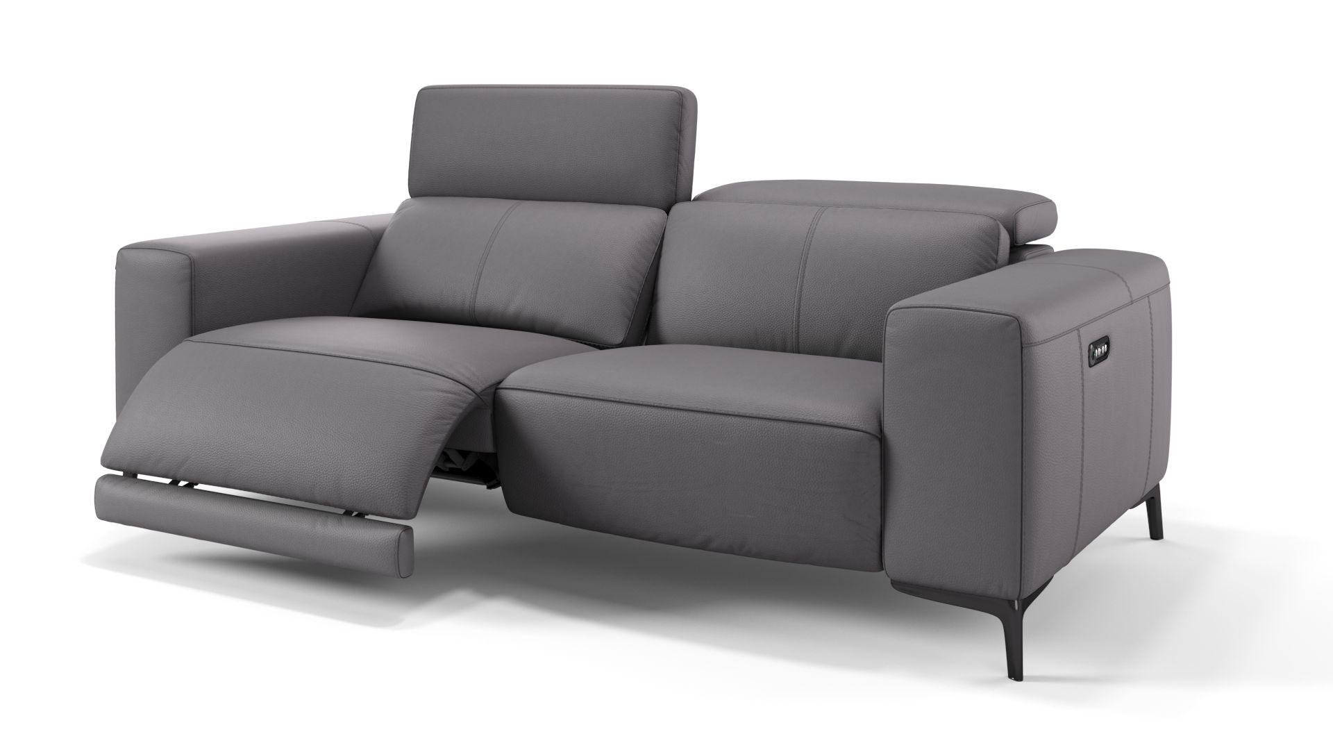 Leder 3-Sitzer Sofa BORRELLO