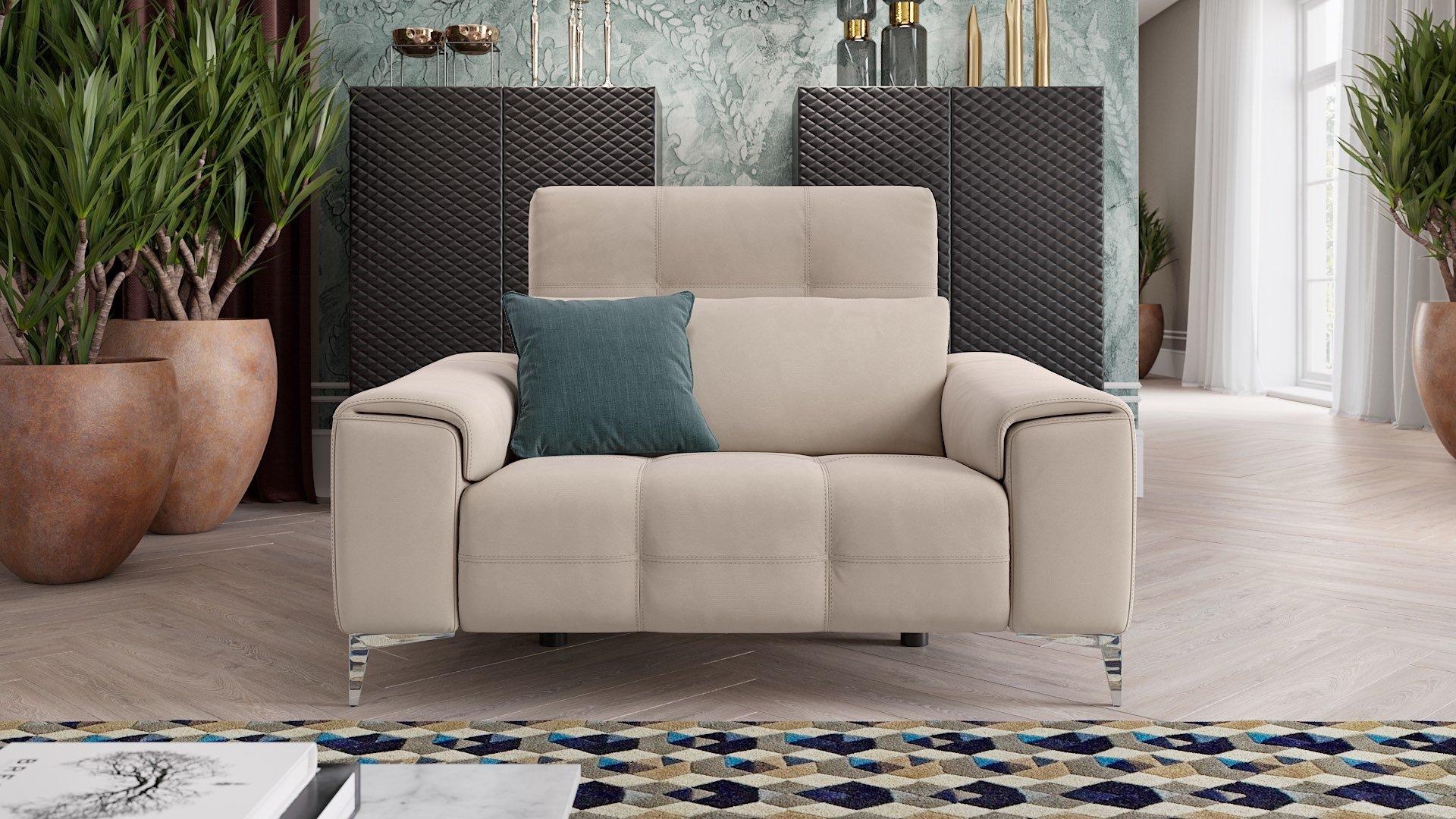 Stoff 2-Sitzer Sofa Mini SALENTO