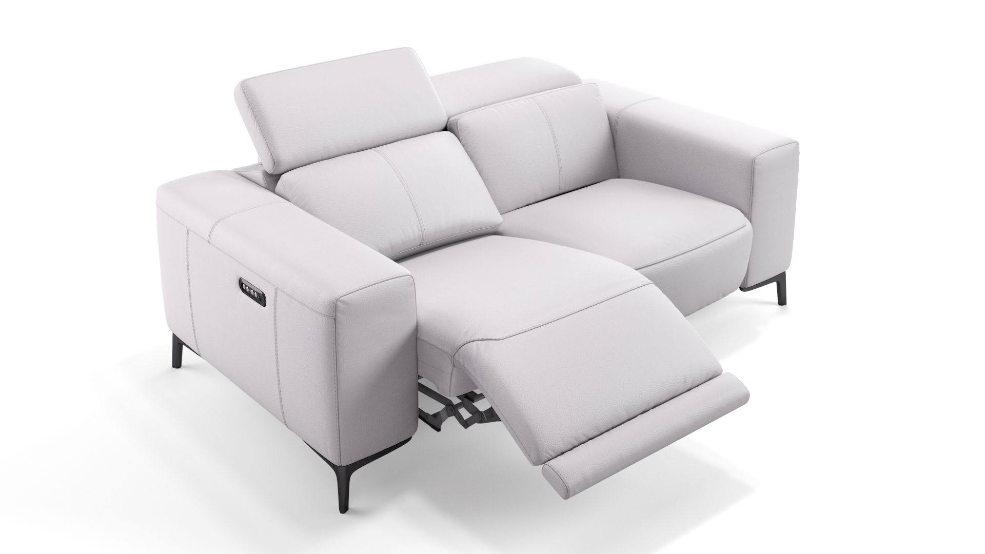 Leder 2-Sitzer Sofa BORRELLO