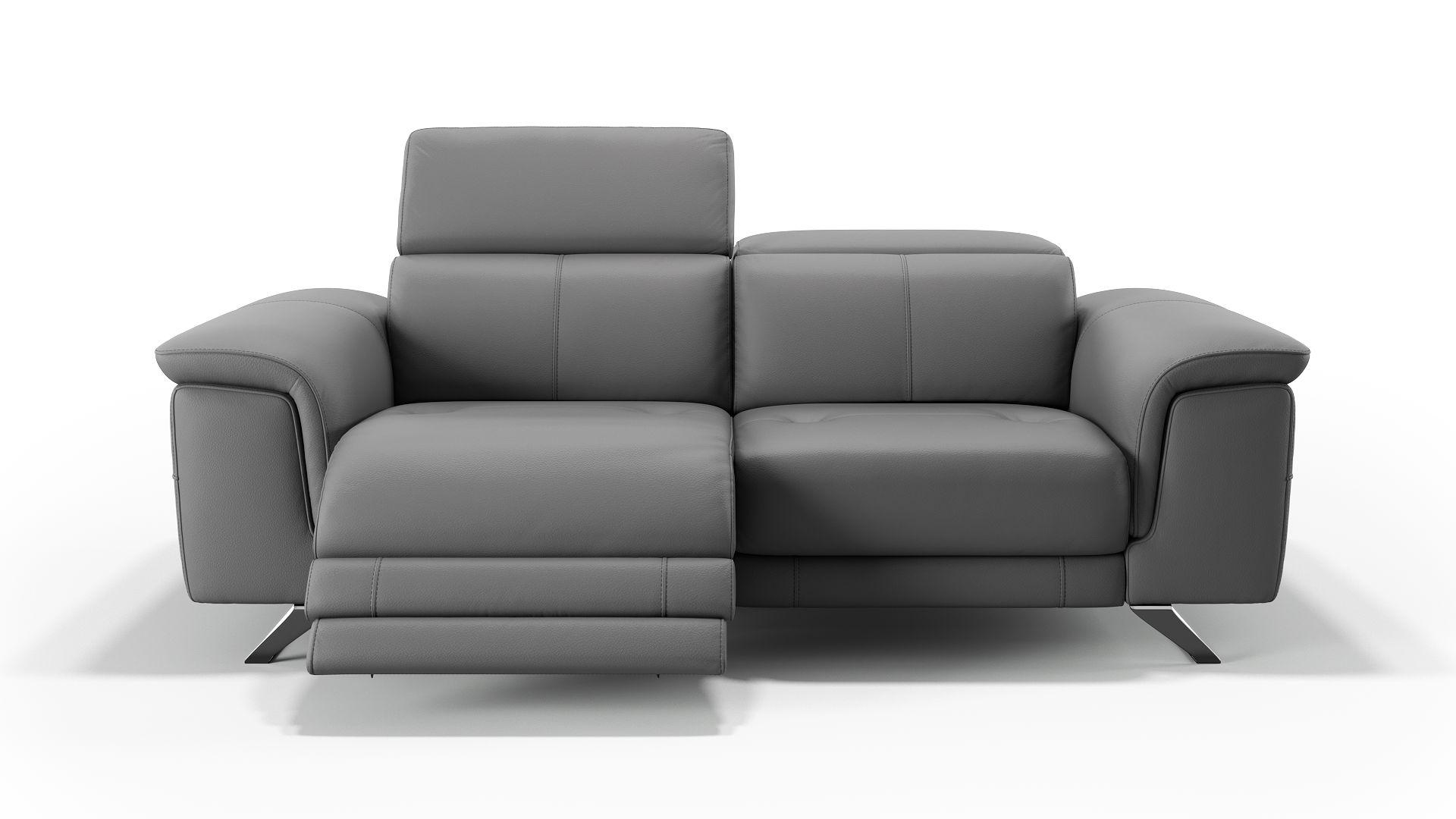 Leder 2-Sitzer Sofa SERRI