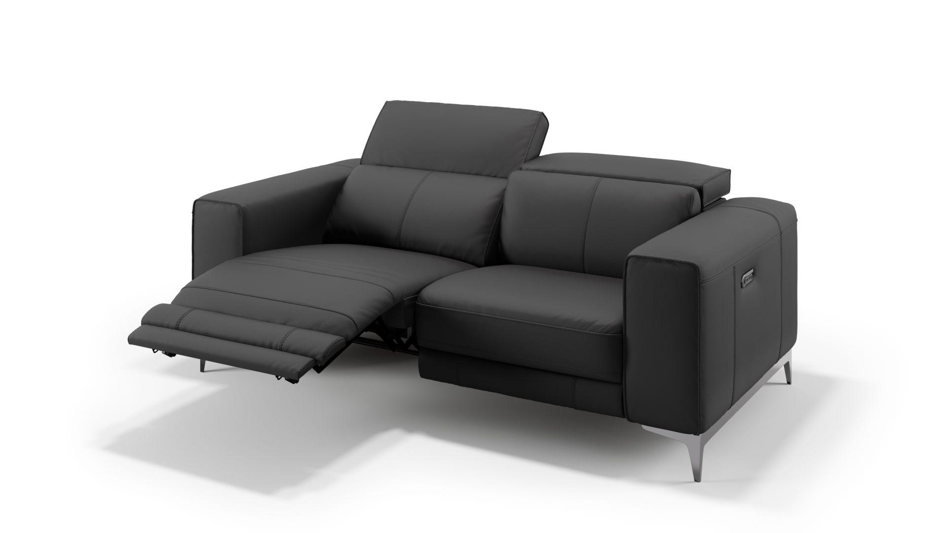 Leder 2-Sitzer Sofa CUPELLO