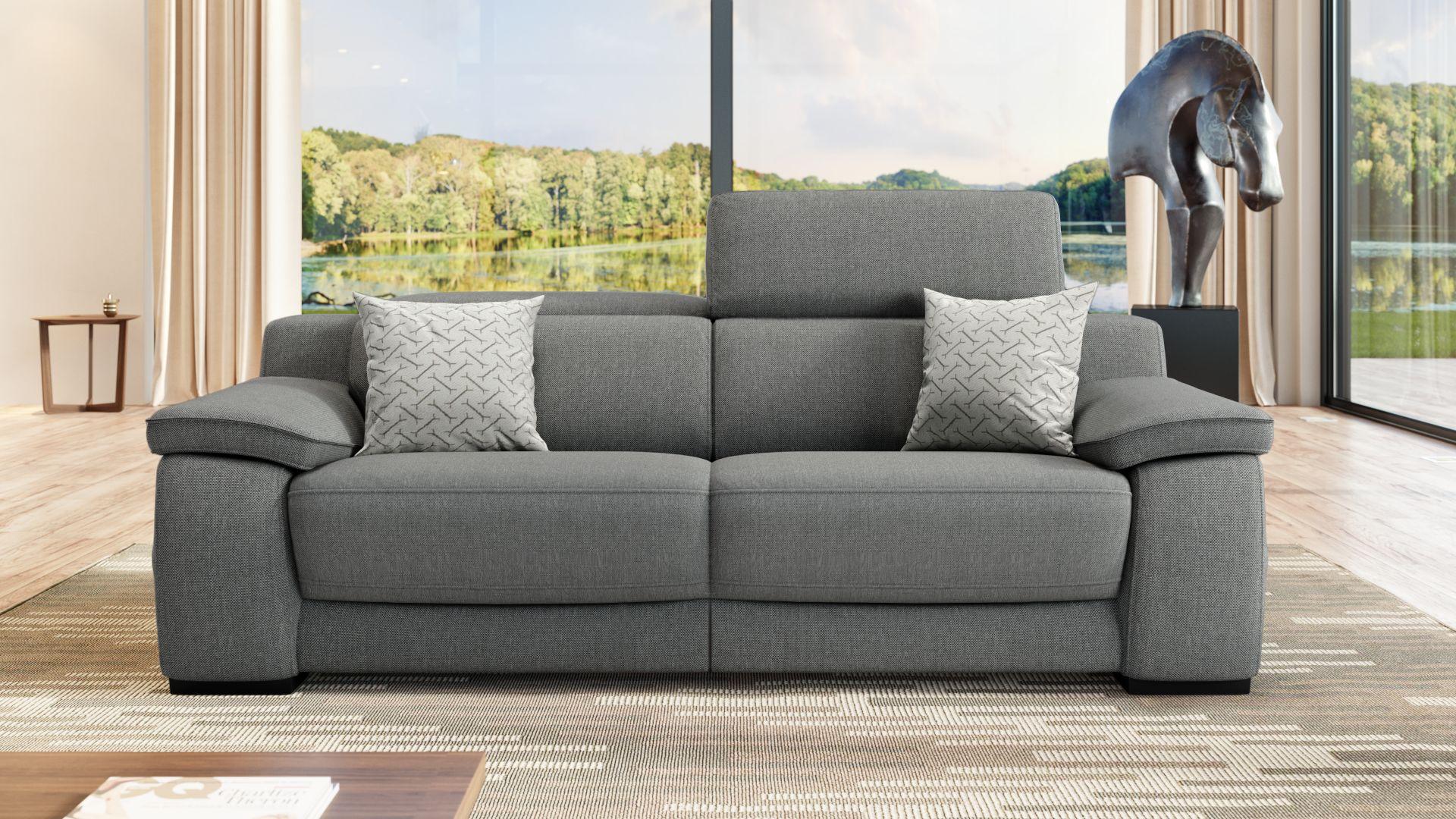 Stoff 2-Sitzer Sofa SAVELLI