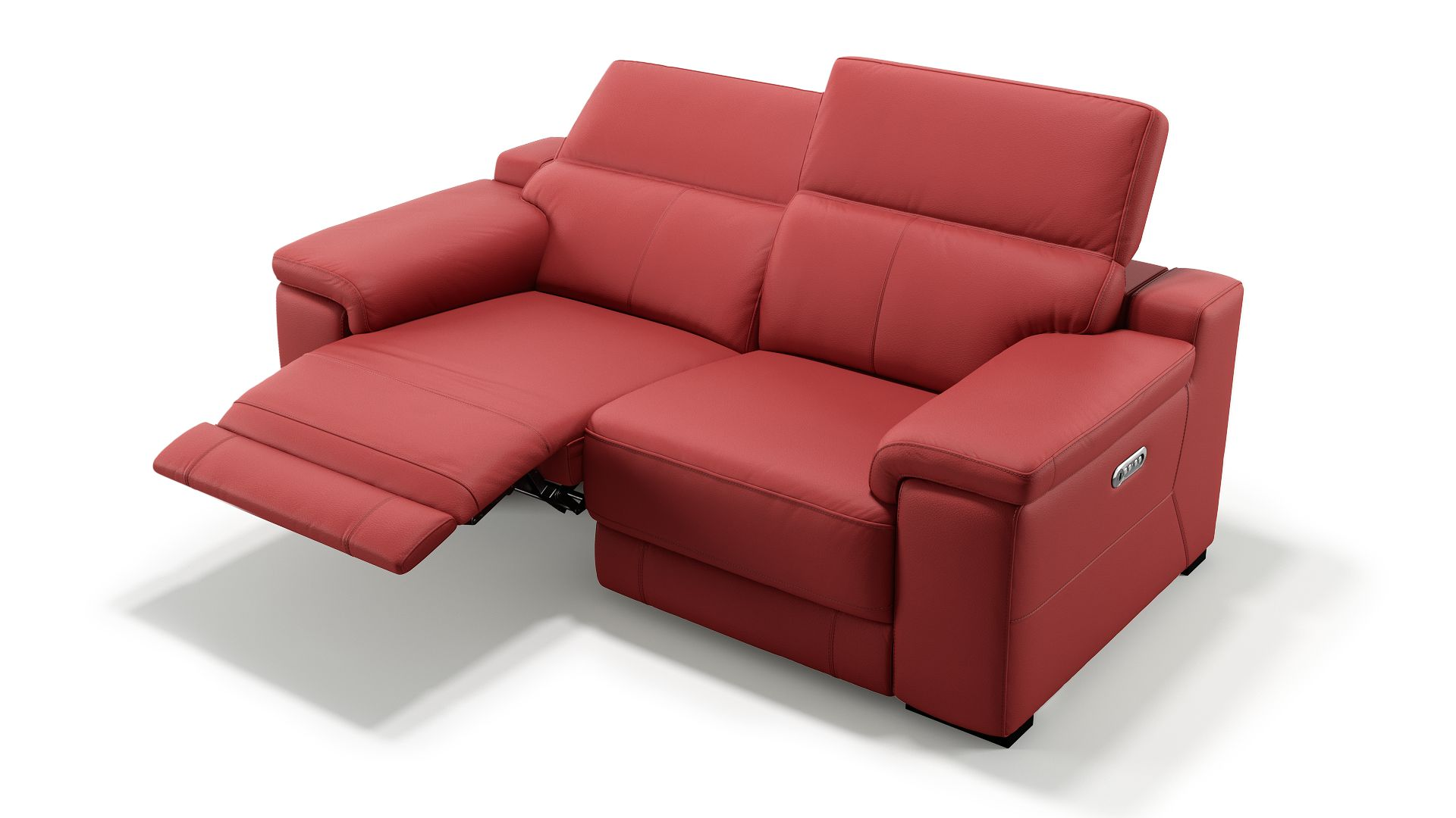 Leder 2-Sitzer Sofa SORA