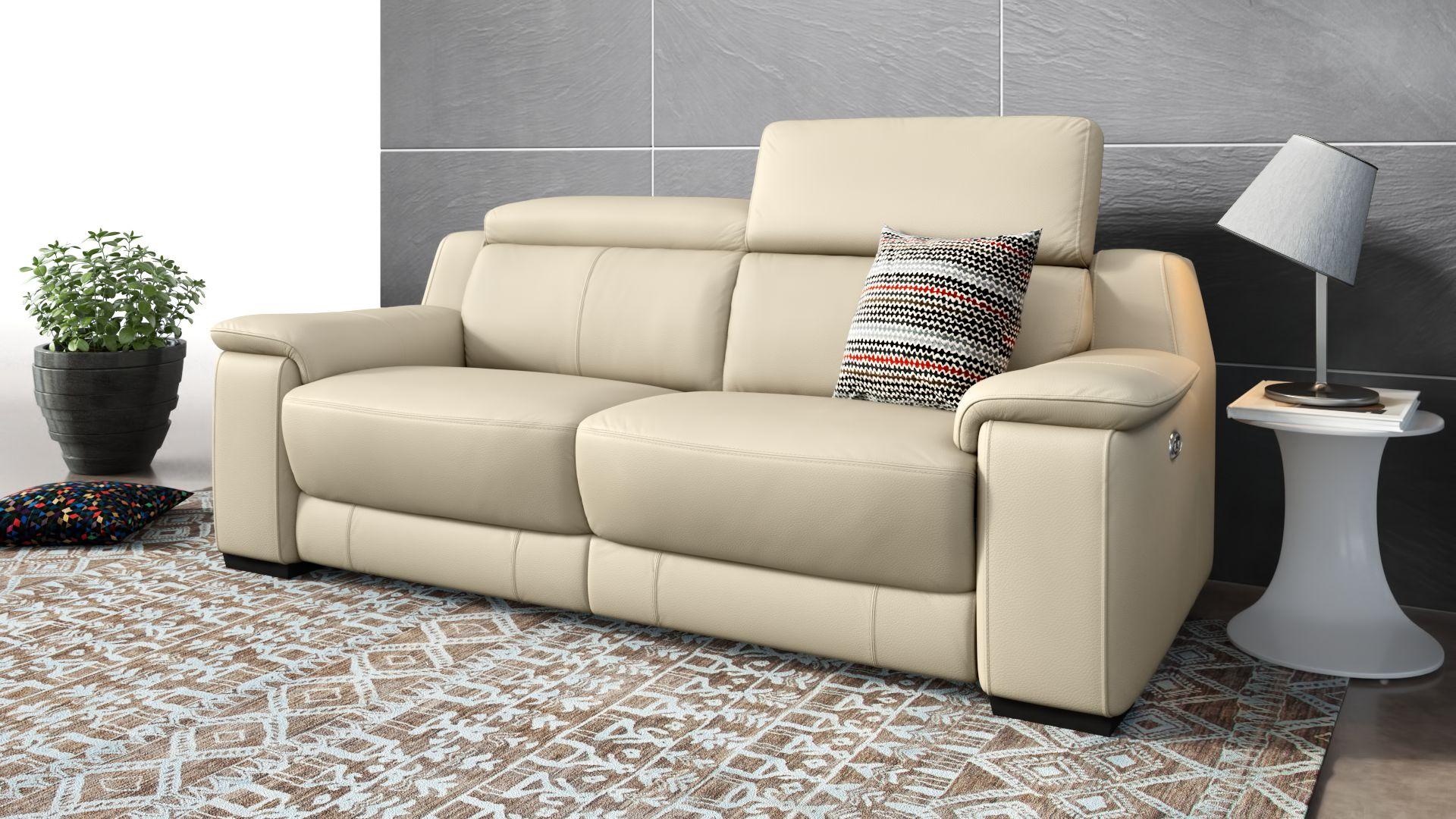 Leder 2-Sitzer Sofa VALERA
