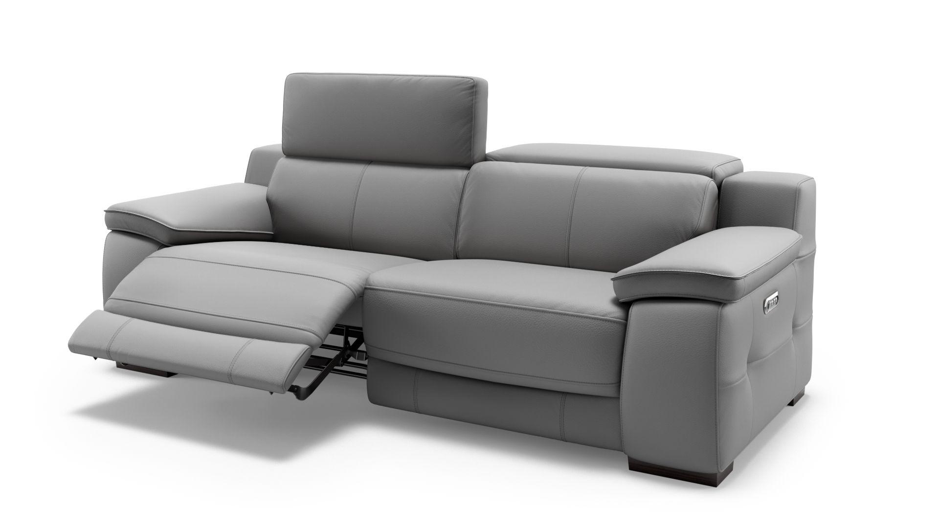 Leder 2-Sitzer Sofa SAVELLI