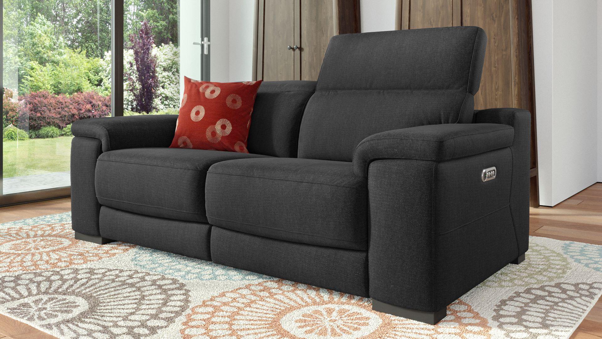 Stoff 2-Sitzer Sofa SORA
