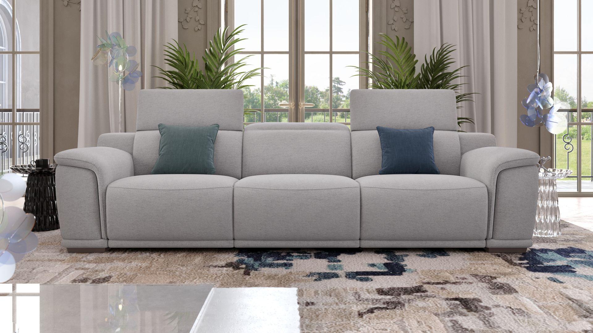 Stoff 3-Sitzer Sofa XXL MONTEFINO