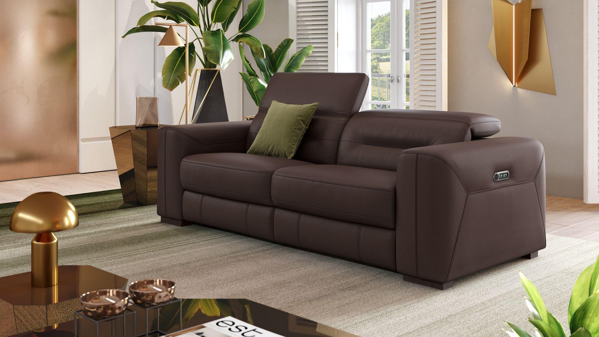 Leder 3-Sitzer Sofa CORATO